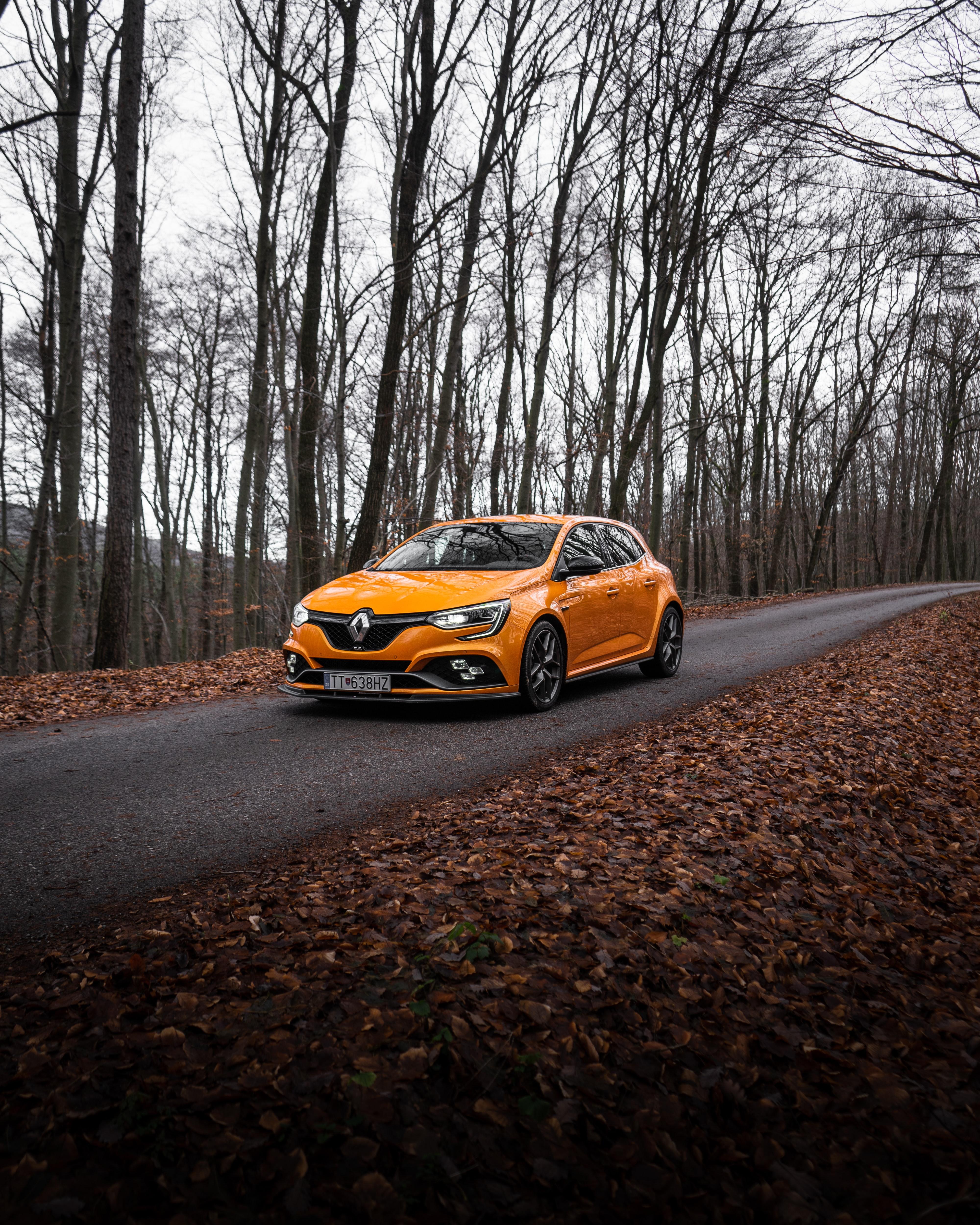 130858 Hintergrundbild herunterladen Auto, Renault, Cars, Straße, Wagen, Asphalt, Renault Megane - Bildschirmschoner und Bilder kostenlos