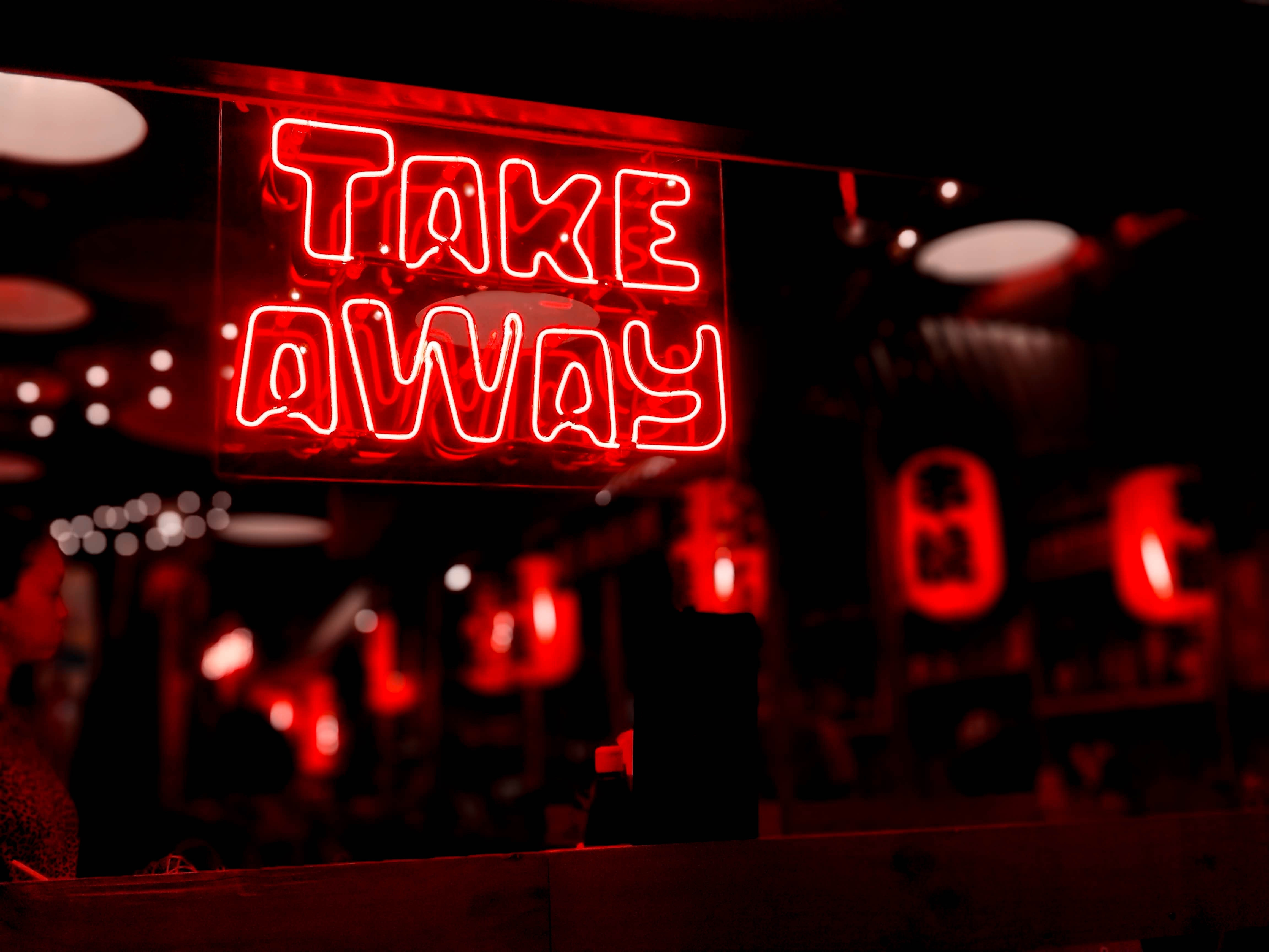 83828 download wallpaper Neon, Words, Glow, Text, Sign, Signboard screensavers and pictures for free