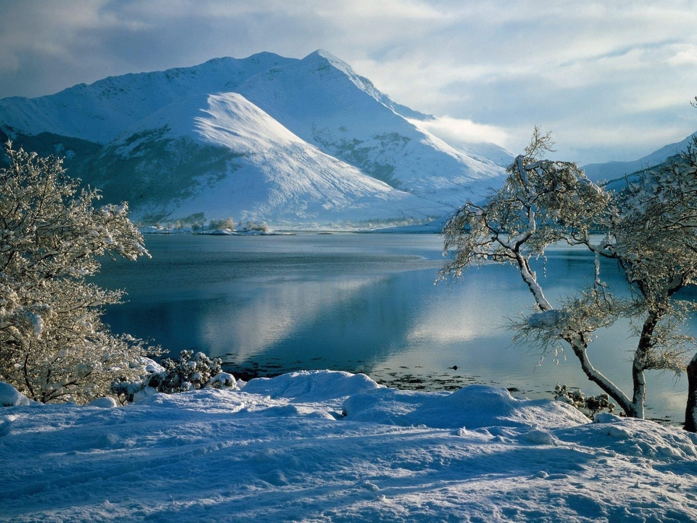 42356 download wallpaper Landscape, Winter, Nature screensavers and pictures for free
