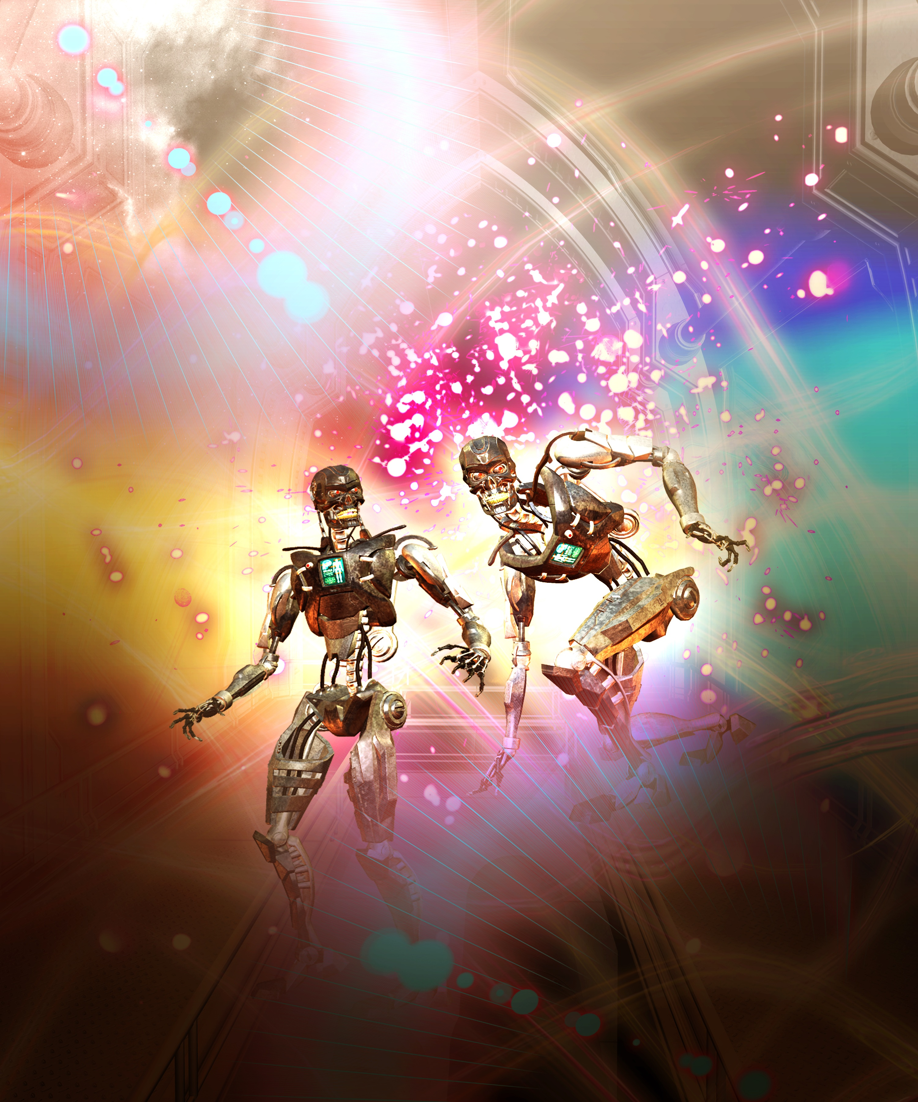 57333 Screensavers and Wallpapers Robots for phone. Download Cyborgs, Futurism, Art, Robots pictures for free