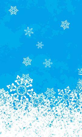 14099 скачать обои Зима, Фон, Новый Год (New Year), Рождество (Christmas, Xmas), Снежинки - заставки и картинки бесплатно
