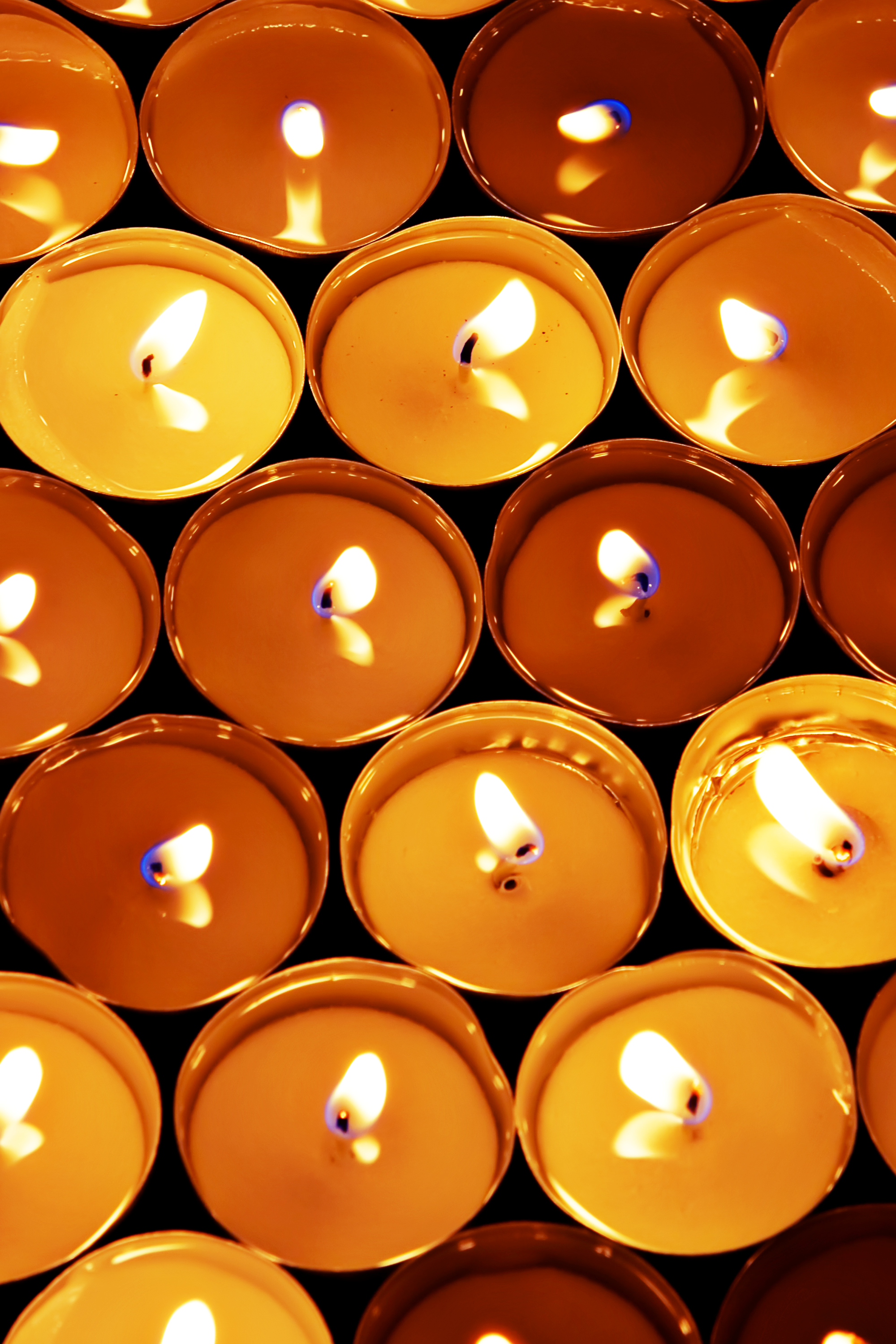 61621 Screensavers and Wallpapers Candles for phone. Download Fire, Candles, Shine, Light, Miscellanea, Miscellaneous, To Burn, Burn pictures for free