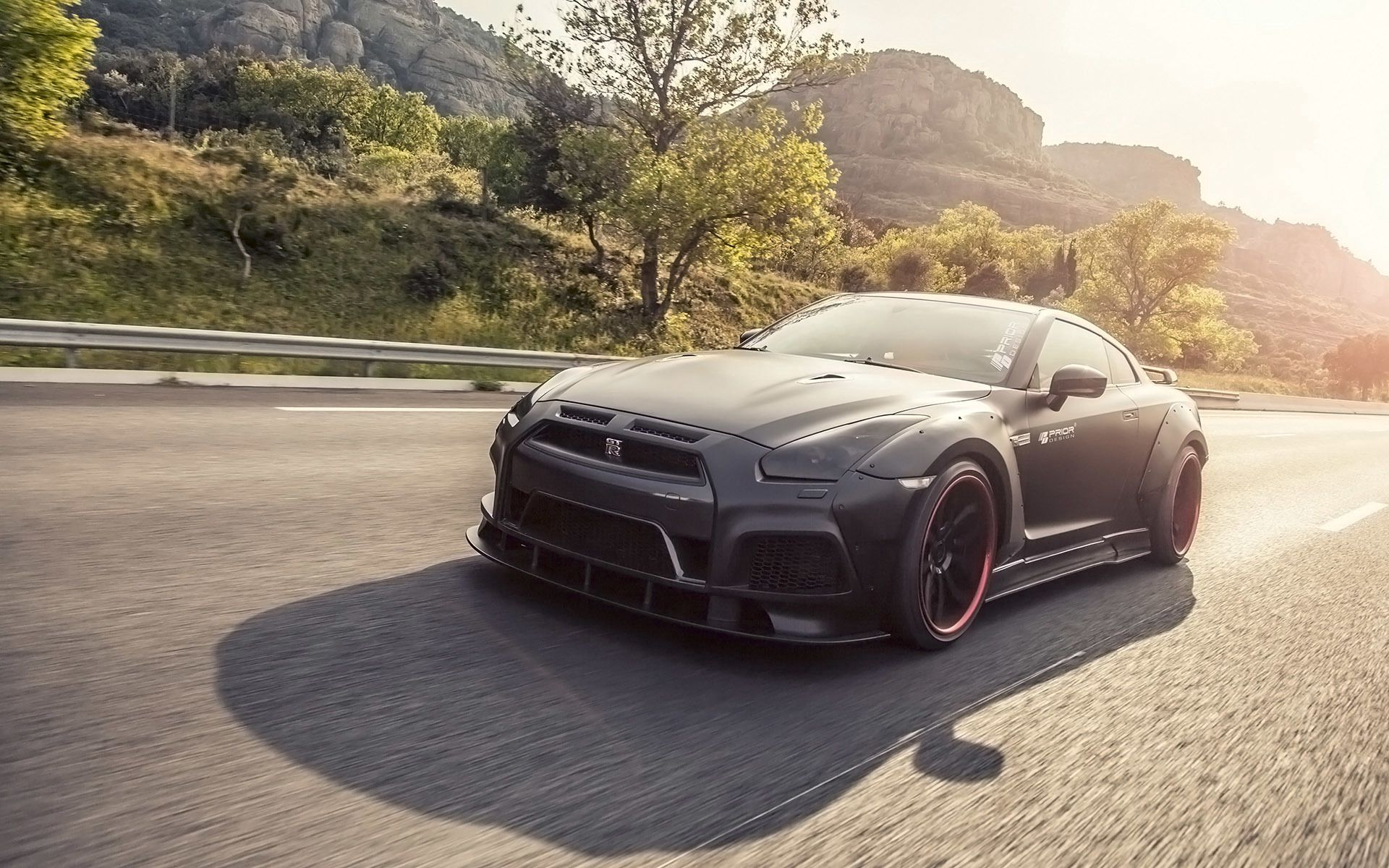 124725 Screensavers and Wallpapers Nissan for phone. Download Nissan, Tuning, Cars, Traffic, Movement, Gt-R pictures for free