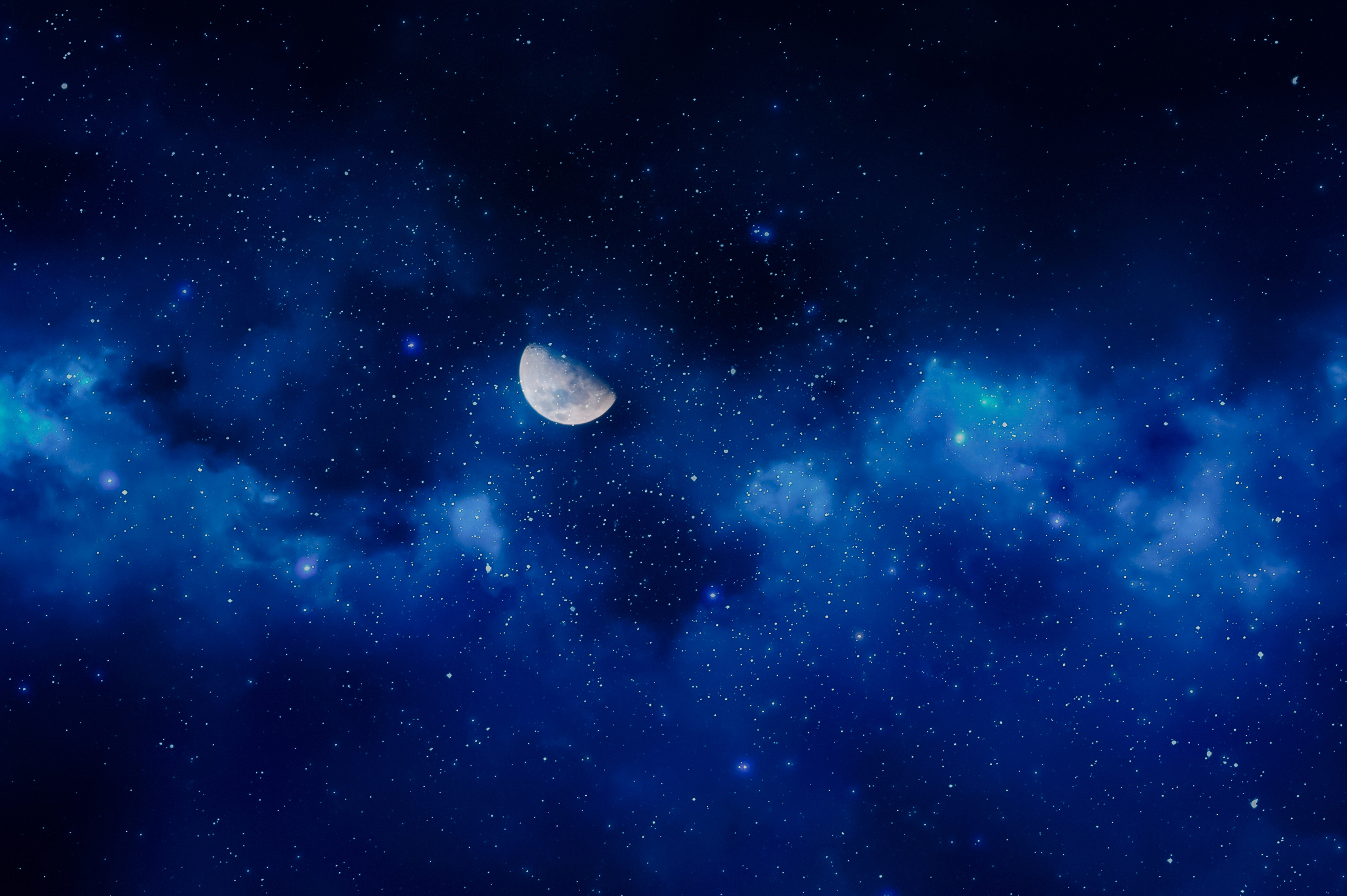 88609 download wallpaper Sky, Night, Universe, Stars, Moon, Full Moon screensavers and pictures for free