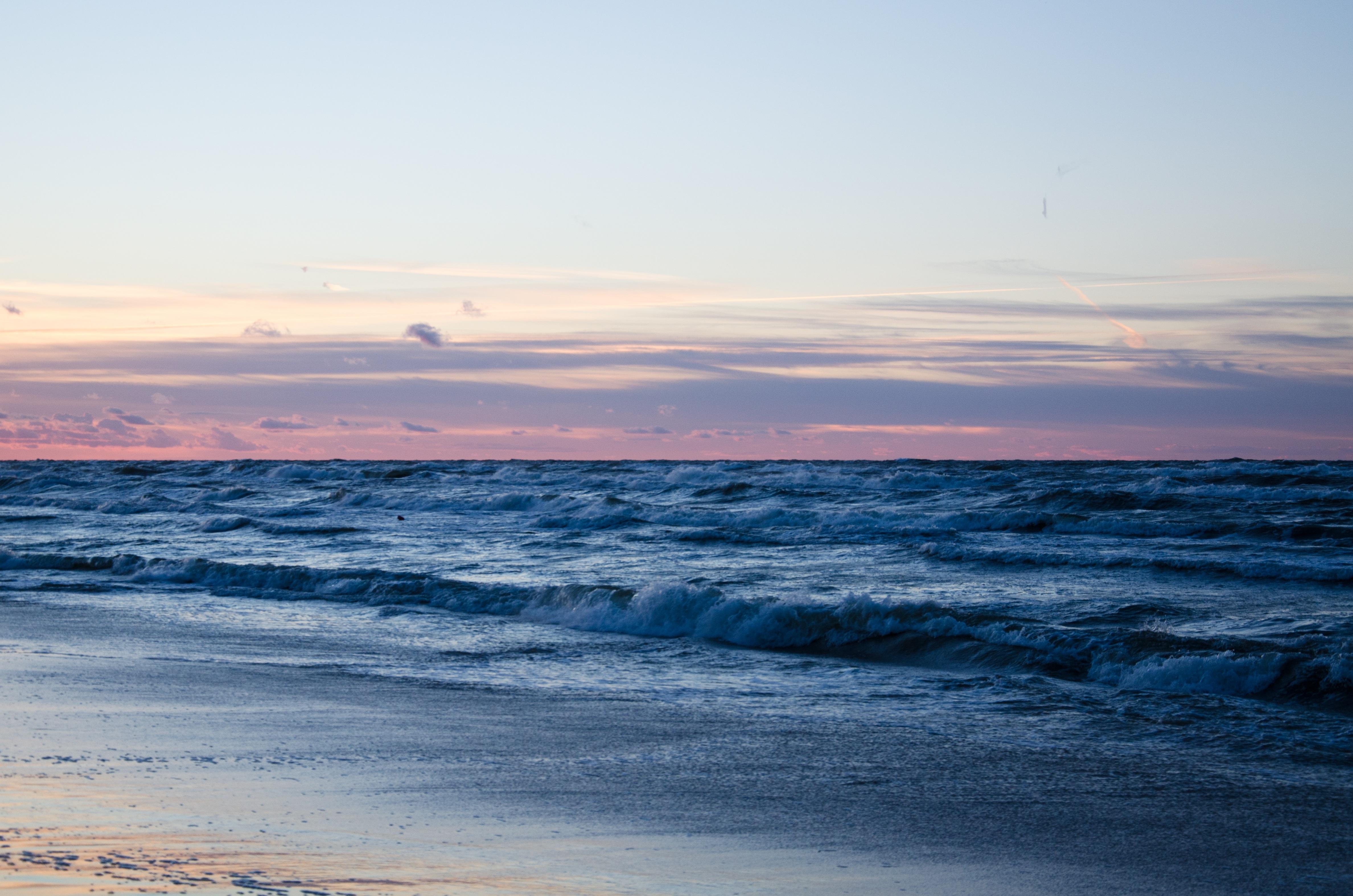 132554 Hintergrundbild 128x160 kostenlos auf deinem Handy, lade Bilder Natur, Strand, Sand, Horizont, Ozean 128x160 auf dein Handy herunter