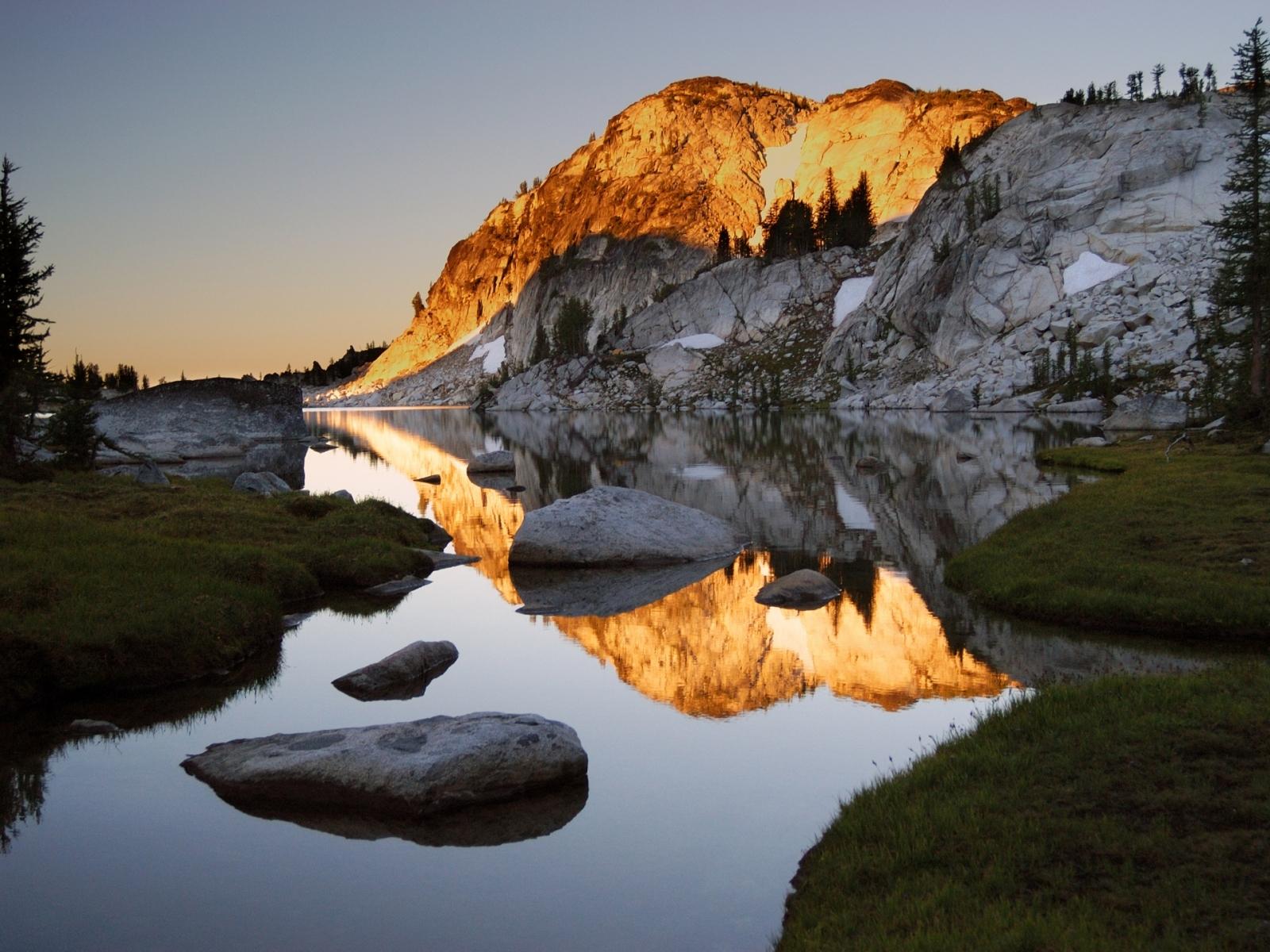 4026 скачать обои Пейзаж, Река, Камни, Горы - заставки и картинки бесплатно