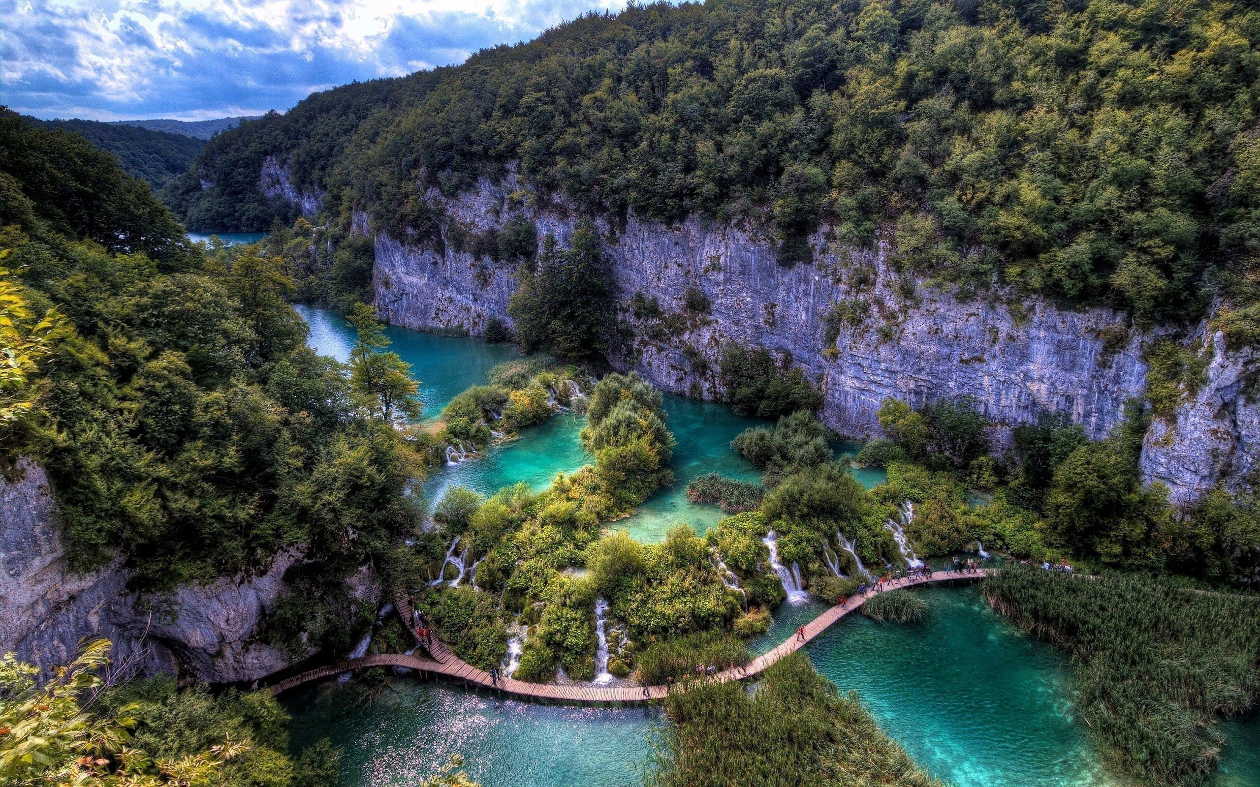 127191 Screensavers and Wallpapers Bridge for phone. Download Mountains, Nature, Rivers, View From Above, Bridge, Hdr pictures for free