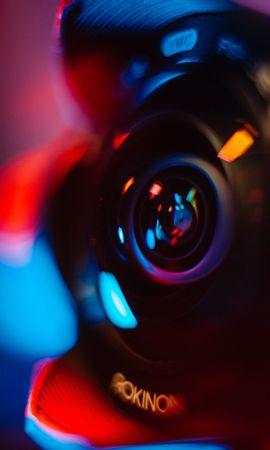 お使いの携帯電話の137698スクリーンセーバーと壁紙テクノロジー。 テクノロジー, レンズ, カメラ, グレア, ぎらぎら, ぼやけ, 滑らか, 色とりどり, モトリーの写真を無料でダウンロード