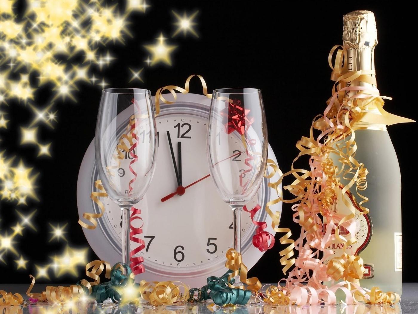 23438 скачать обои Новый Год (New Year), Праздники, Часы - заставки и картинки бесплатно