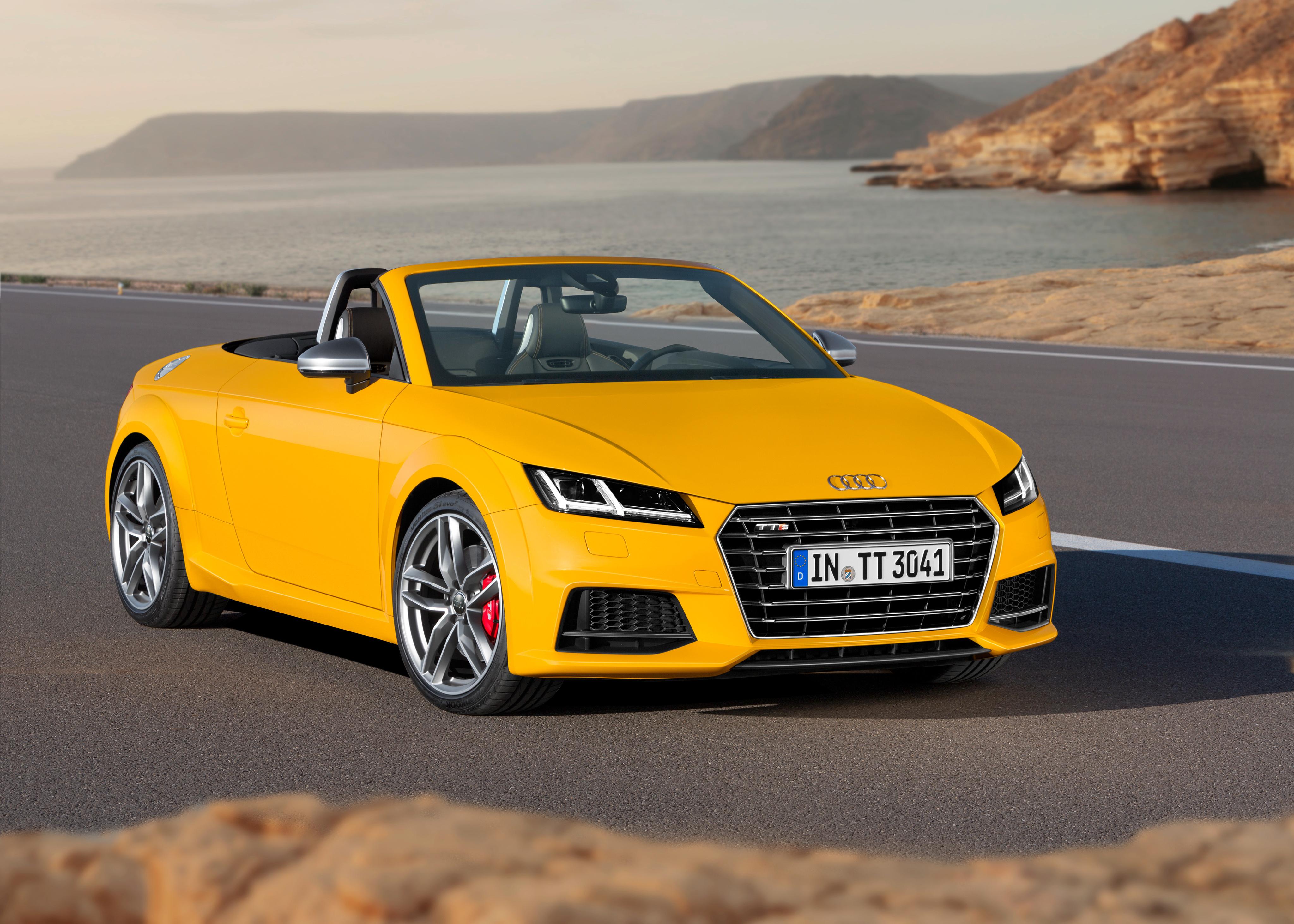 129688 descargar fondo de pantalla Coches, Audi, Tts, Tt, Coche De Turismo, Roadster, 2014: protectores de pantalla e imágenes gratis