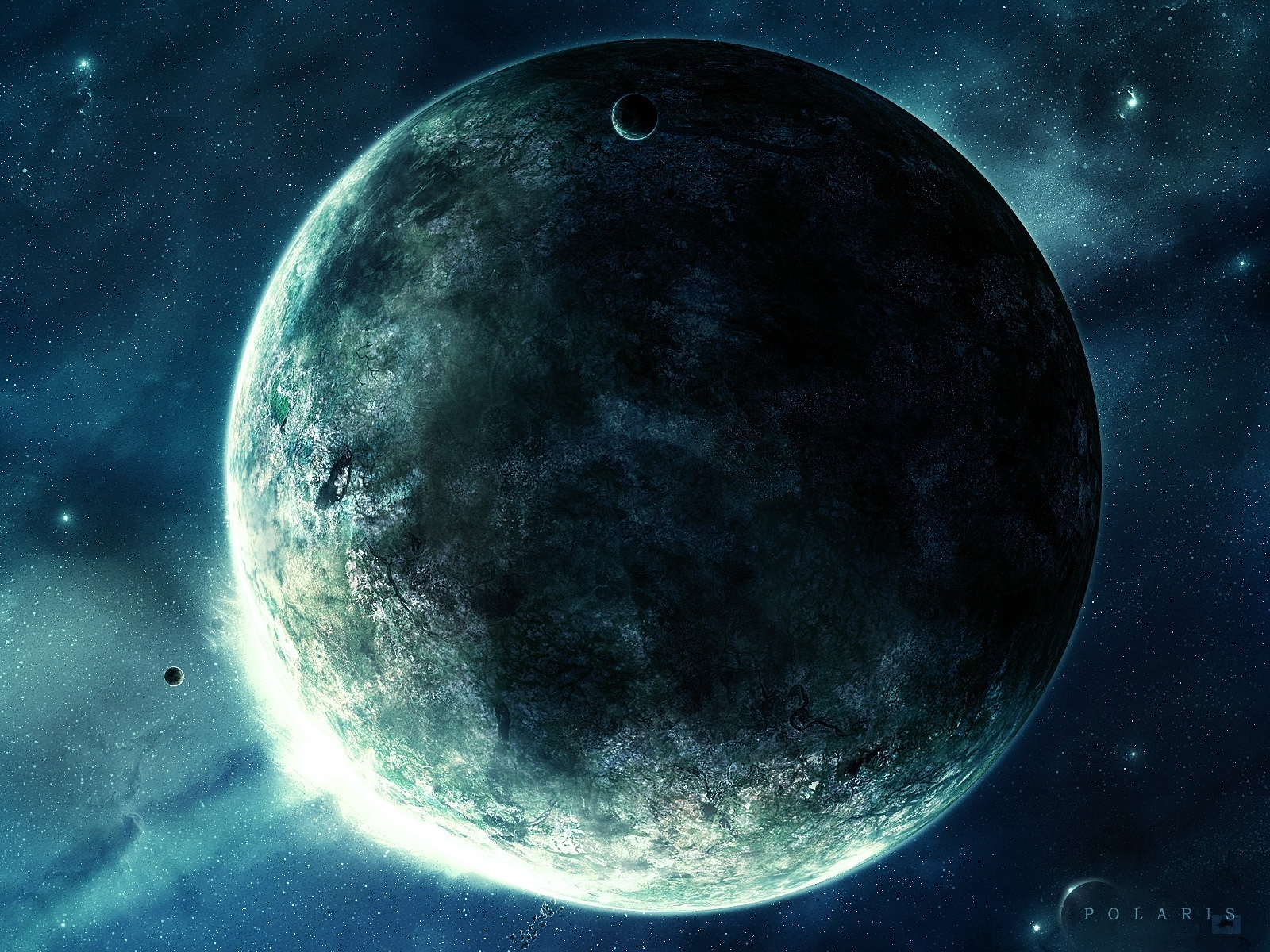 1368 download wallpaper Landscape, Art, Planets, Universe, Stars screensavers and pictures for free