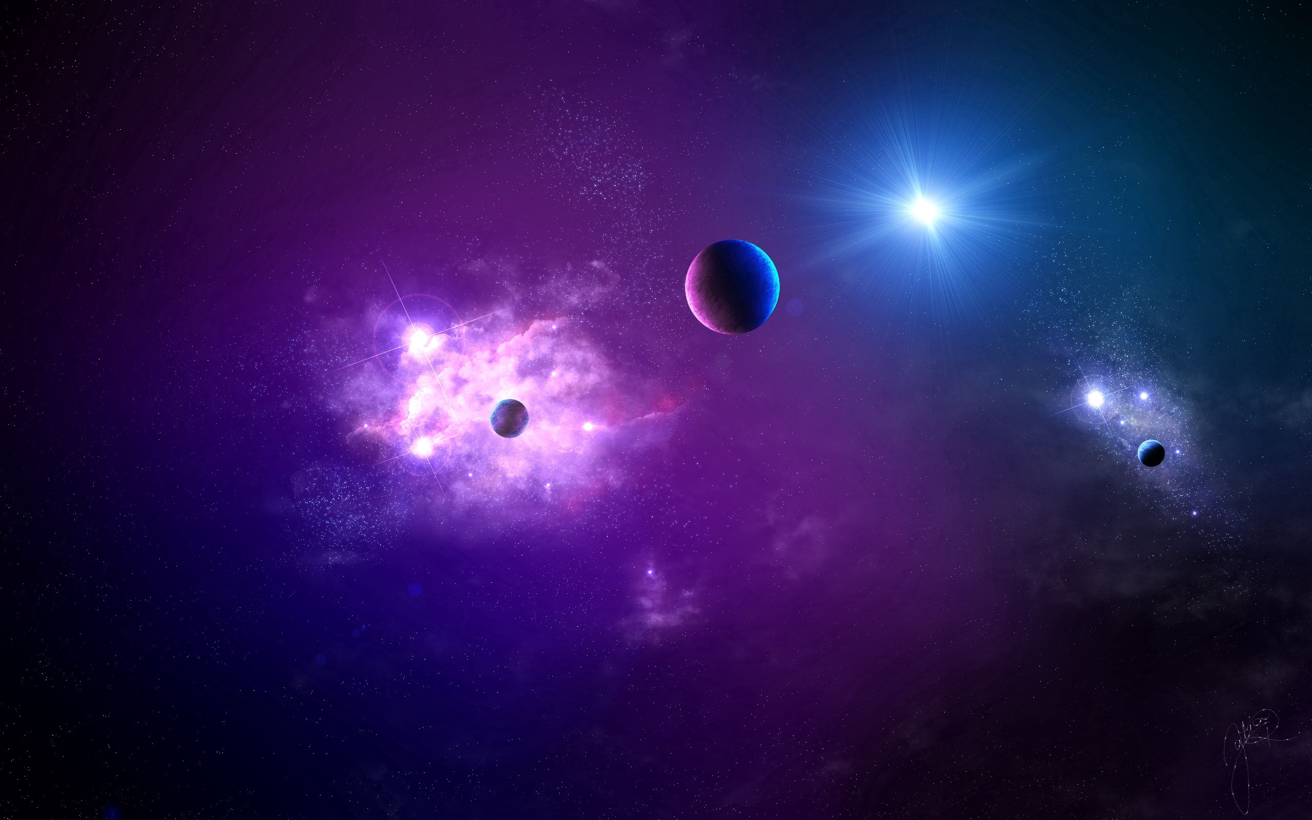 82727 download wallpaper Universe, Planet, Shine, Light, Galaxy screensavers and pictures for free