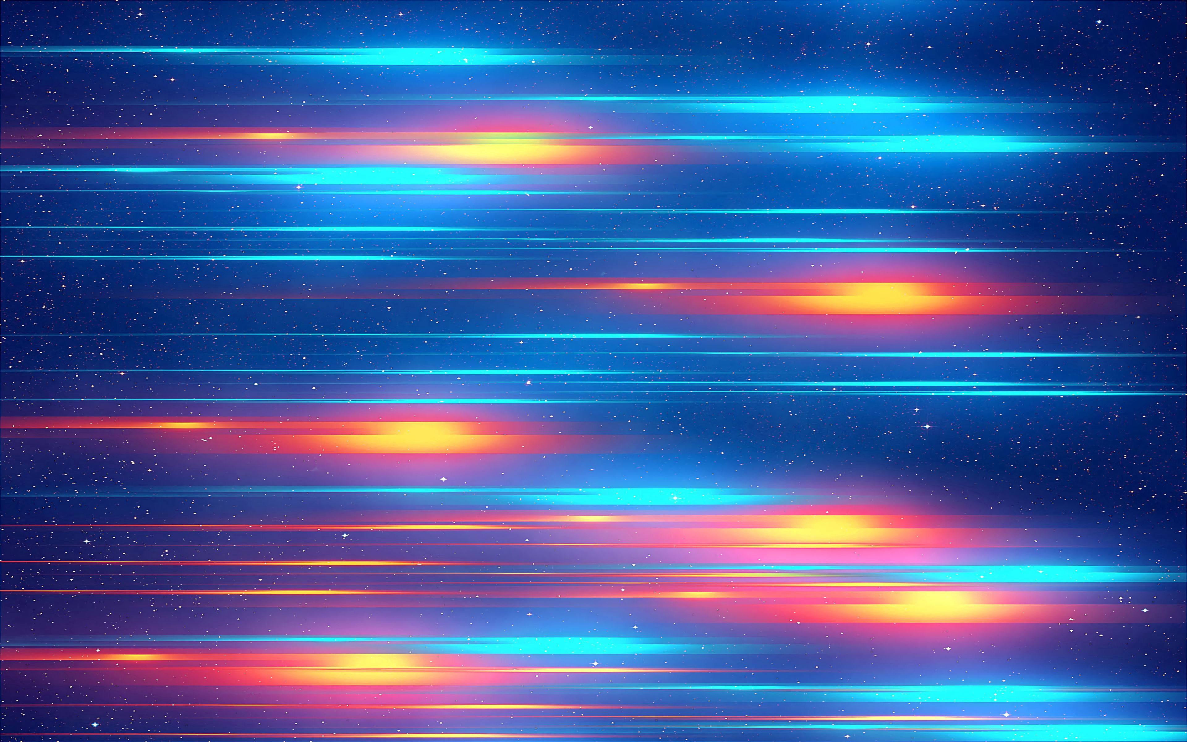69630 download wallpaper Multicolored, Abstract, Bright, Motley, Stripes, Streaks, Glow screensavers and pictures for free