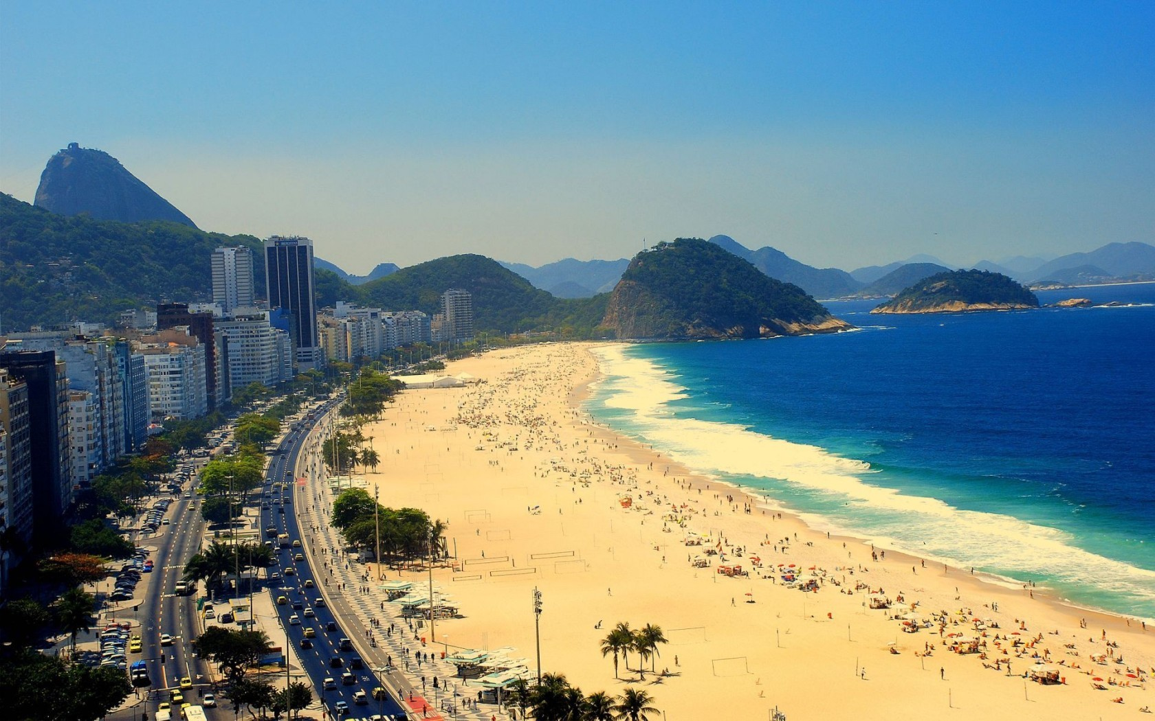 Скачать картинку Пейзаж, Море, Пляж в телефон бесплатно.