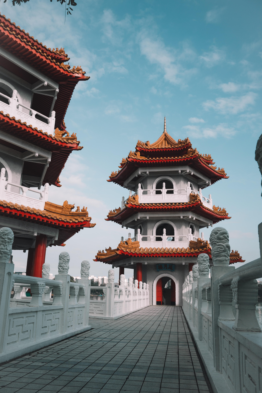 65371 免費下載壁紙 宝塔, 寺庙, 神殿, 建造, 建筑, 东方, 城市 屏保和圖片