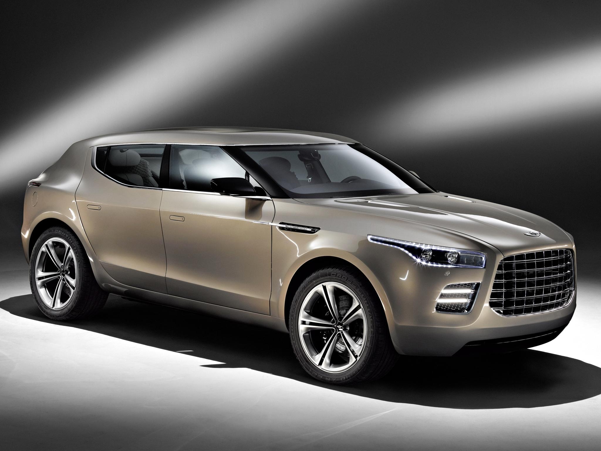 105578 скачать обои Тачки (Cars), Астон Мартин (Aston Martin), Lagonda, Concept, 2009, Коричневый, Вид Сбоку, Концепт Кар, Машины - заставки и картинки бесплатно