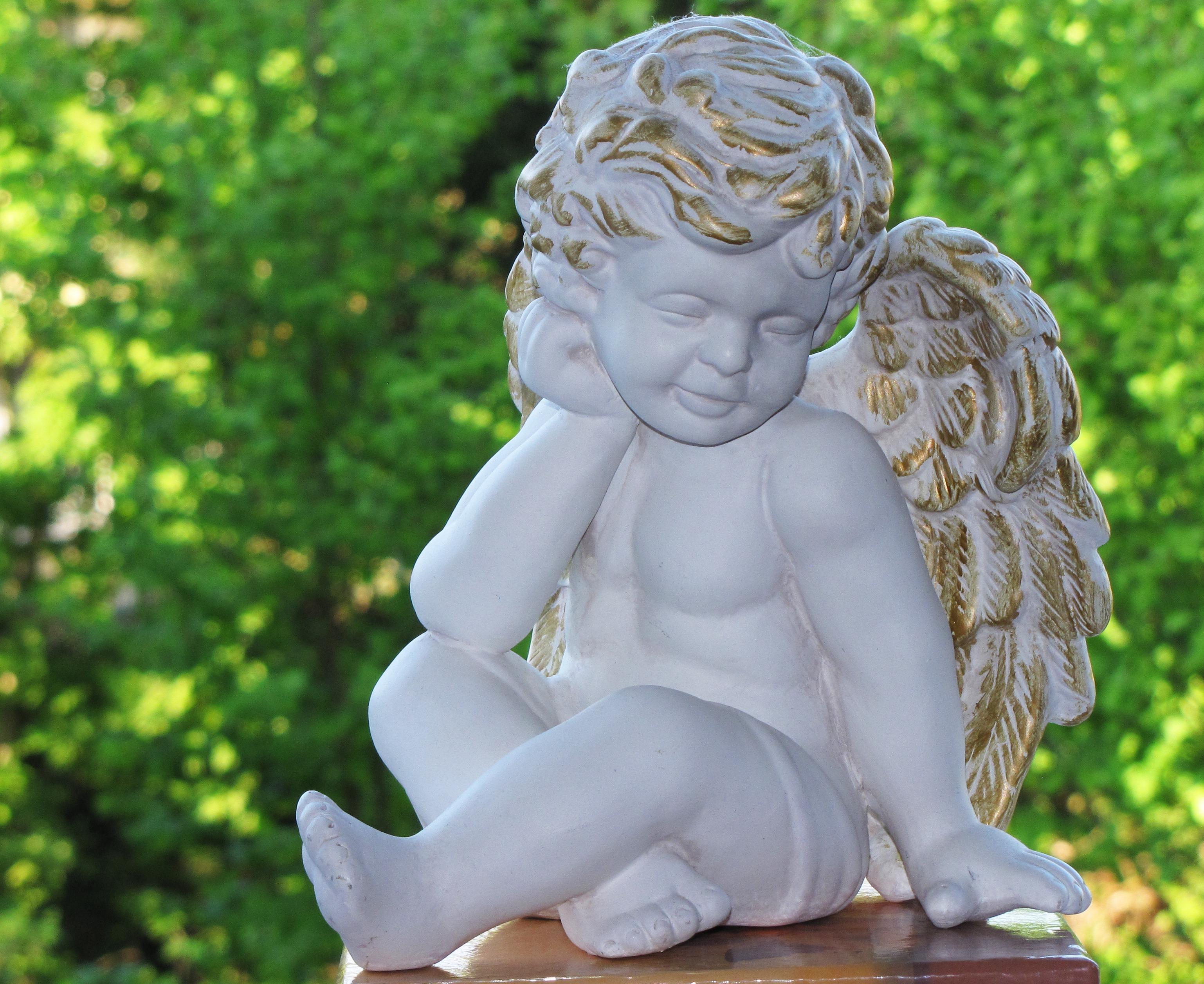 97252 Hintergrundbild herunterladen Engel, Verschiedenes, Sonstige, Statuette, Harmonie - Bildschirmschoner und Bilder kostenlos