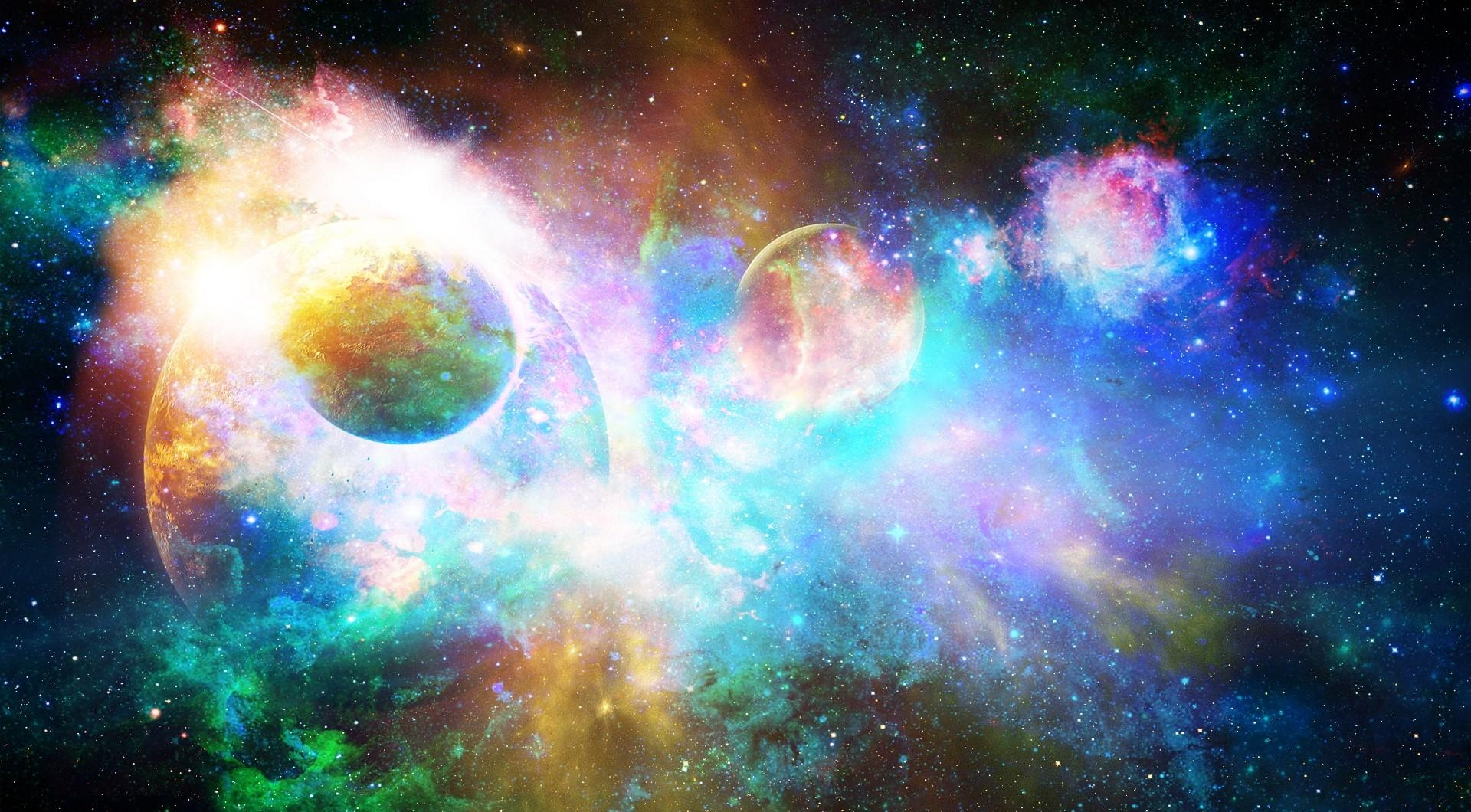 68120 download wallpaper Shine, Light, Galaxy, Universe, Nebula, Stars, Planets screensavers and pictures for free