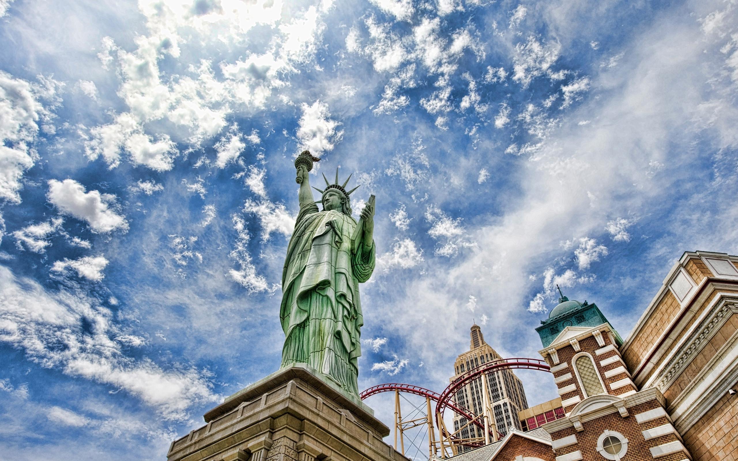 30441 скачать обои Архитектура, Статуя Свободы - заставки и картинки бесплатно