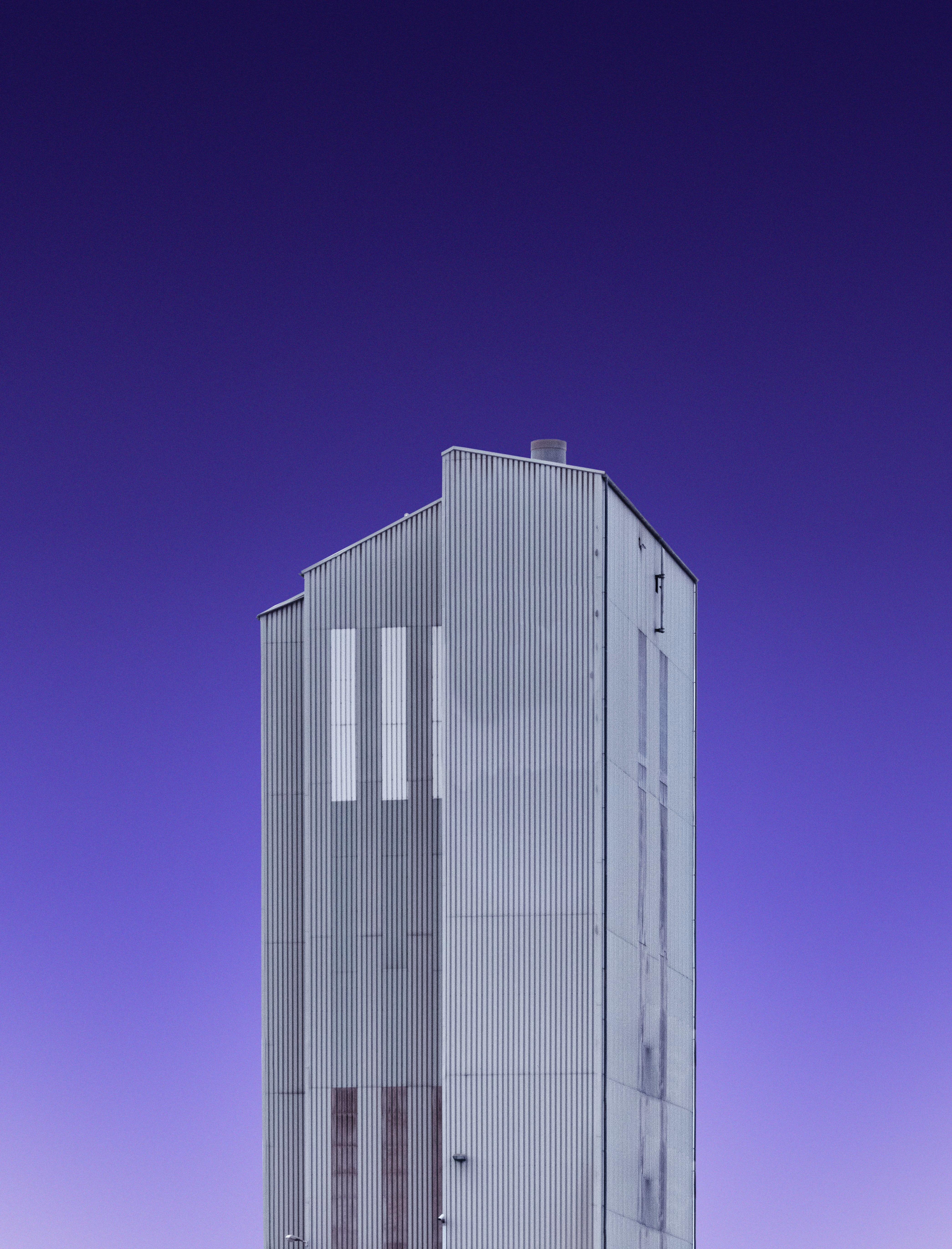 146753壁紙のダウンロードミニマリズム, 建物, ファサード, スカイ-スクリーンセーバーと写真を無料で