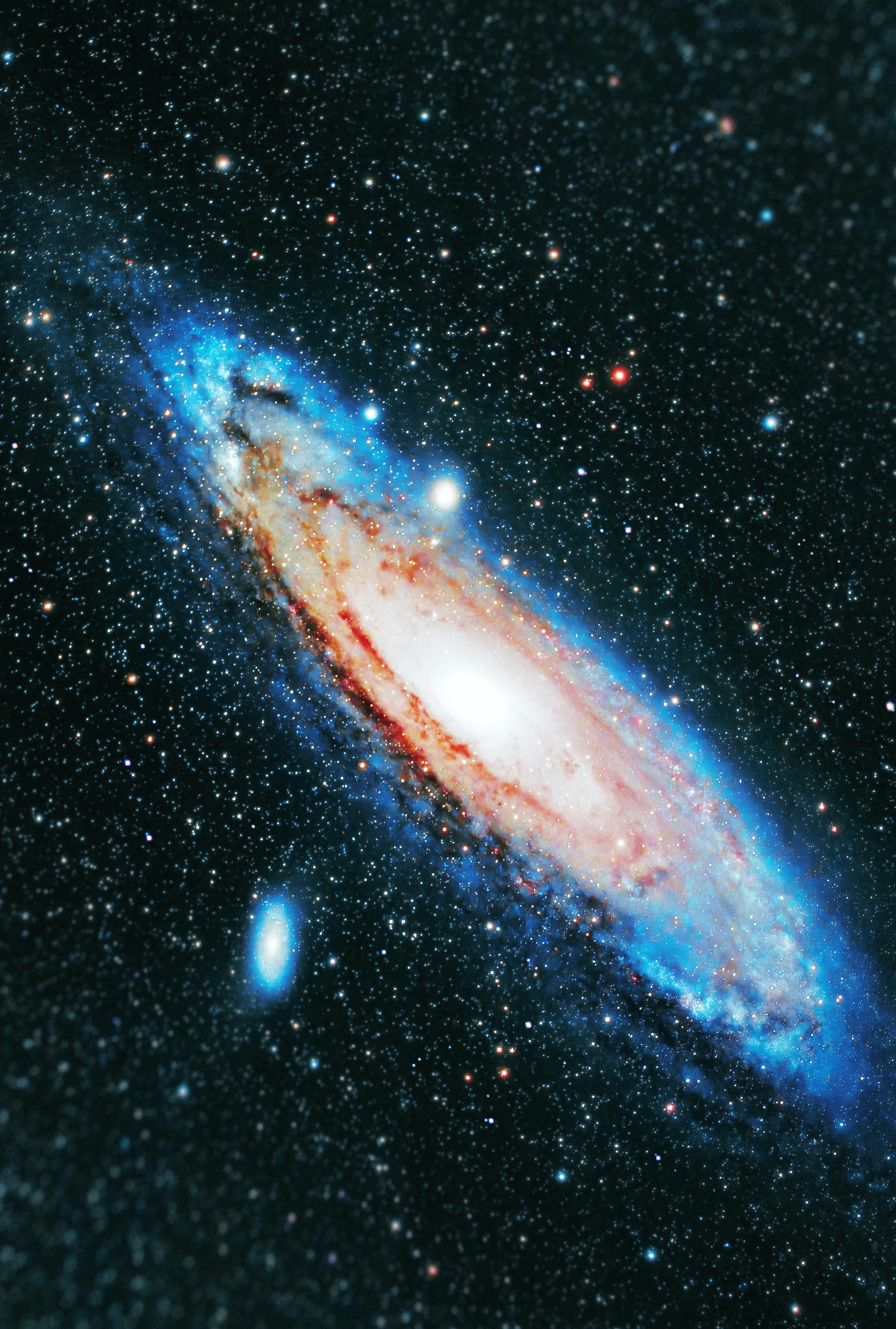 136804 Заставки и Обои Свечение на телефон. Скачать Космос, Свечение, Галактика, Звезды картинки бесплатно