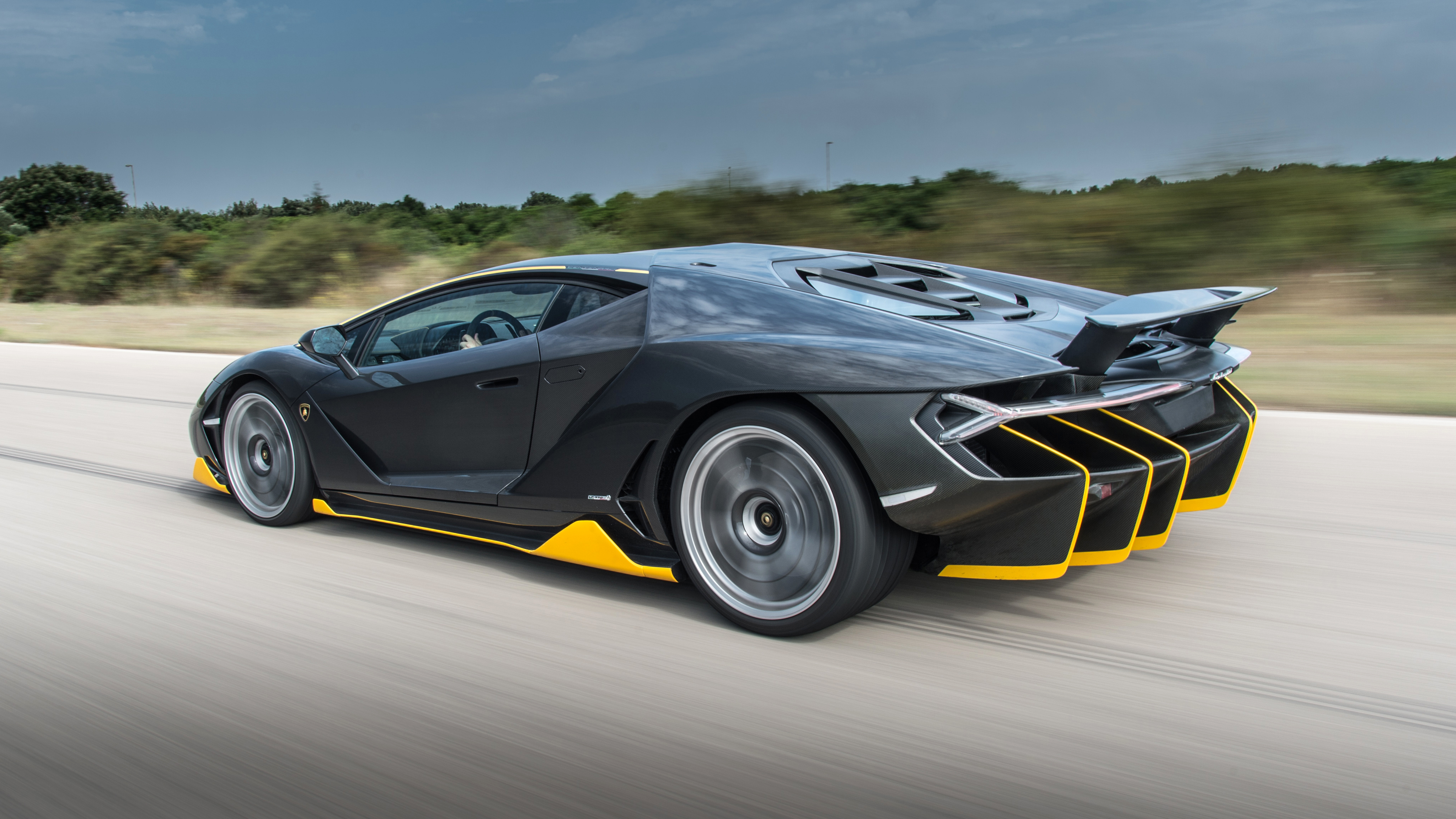 126052 Hintergrundbild herunterladen Lamborghini, Cars, Seitenansicht, Geschwindigkeit, Jahrhundert, Centenario - Bildschirmschoner und Bilder kostenlos