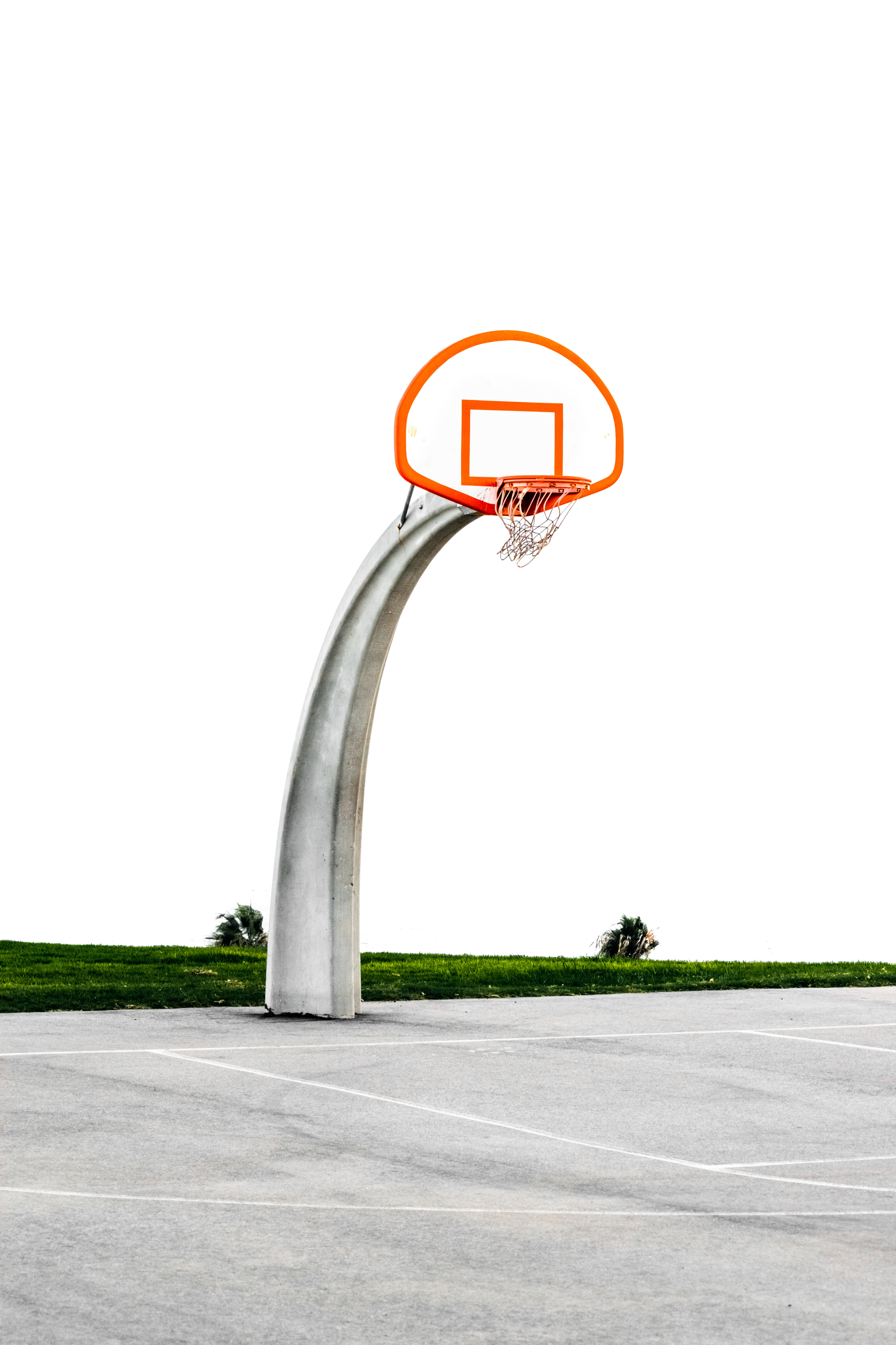 111735 Screensavers and Wallpapers Basketball for phone. Download Basketball Hoop, Basketball Ring, Playground, Platform, Pillar, Post, Basketball, Sports pictures for free