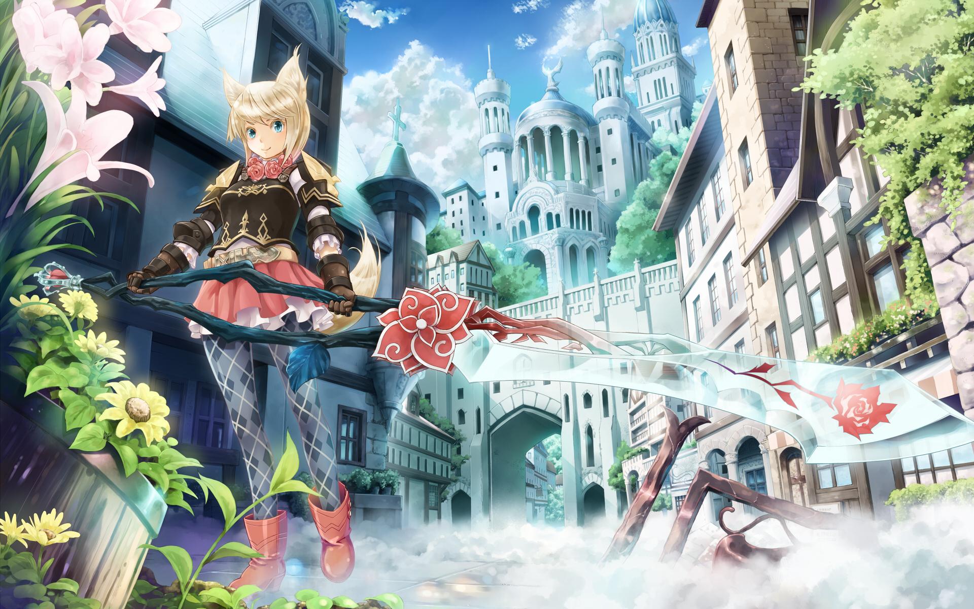 41040 descargar fondo de pantalla Anime, Chicas: protectores de pantalla e imágenes gratis