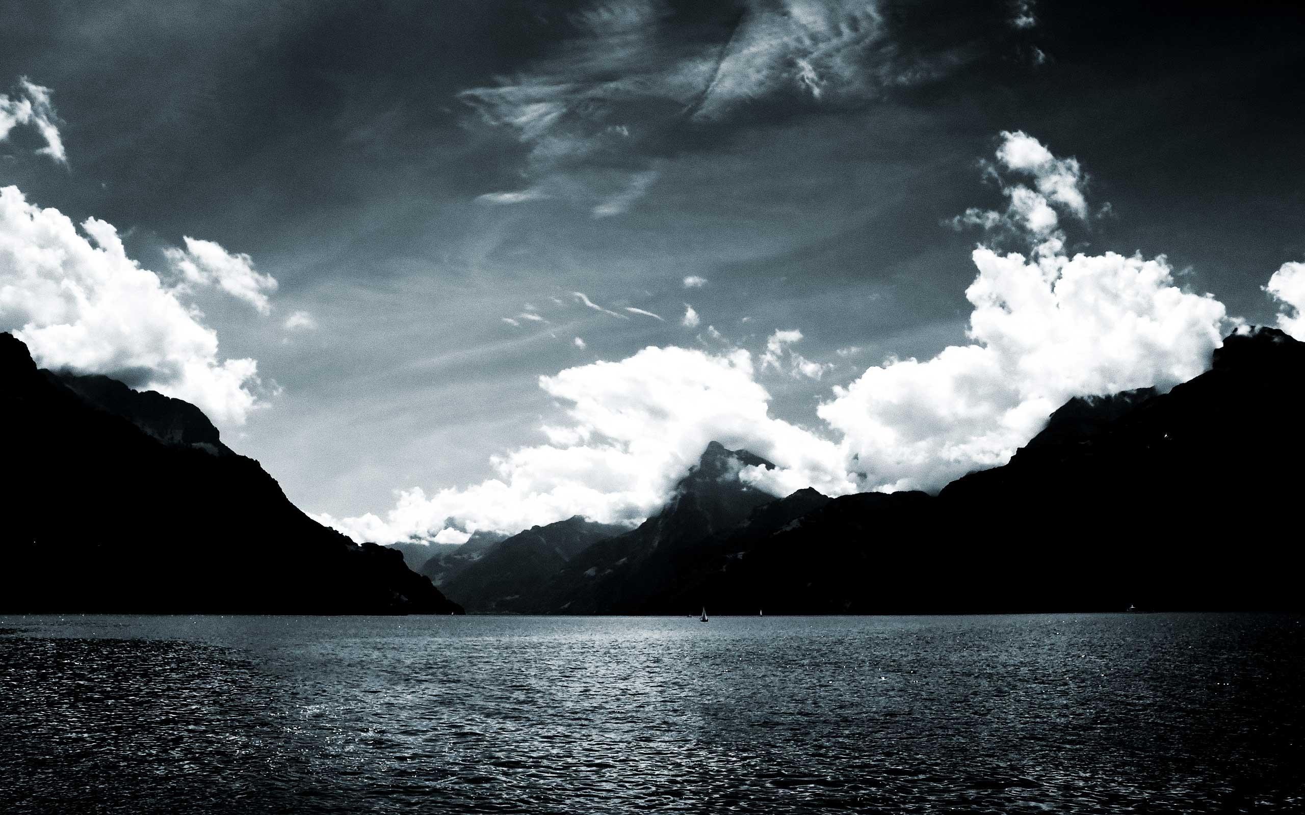 23481 скачать обои Пейзаж, Горы, Облака, Озера - заставки и картинки бесплатно
