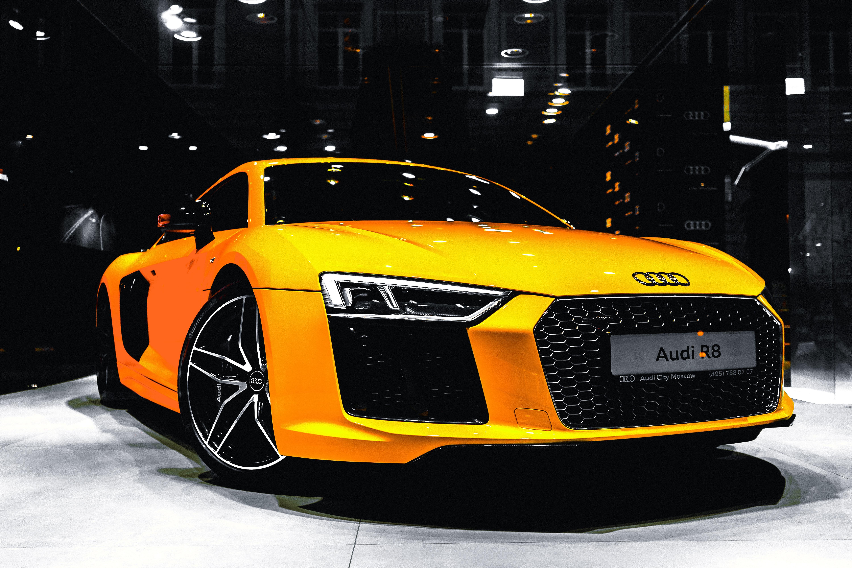 64699 скачать обои Тачки (Cars), Audi R8, Ауди (Audi), Автомобиль, Роскошный - заставки и картинки бесплатно