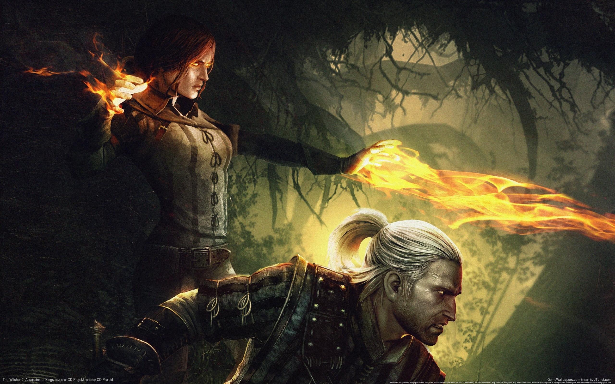 21271 Hintergrundbild herunterladen Spiele, Witcher - Bildschirmschoner und Bilder kostenlos