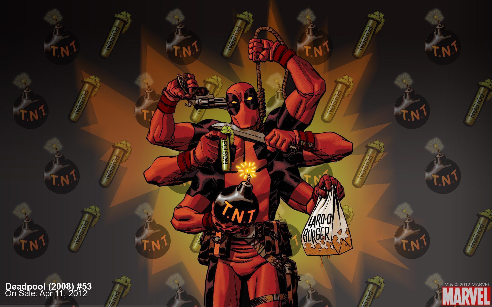 16498 скачать обои Игры, Deadpool - заставки и картинки бесплатно