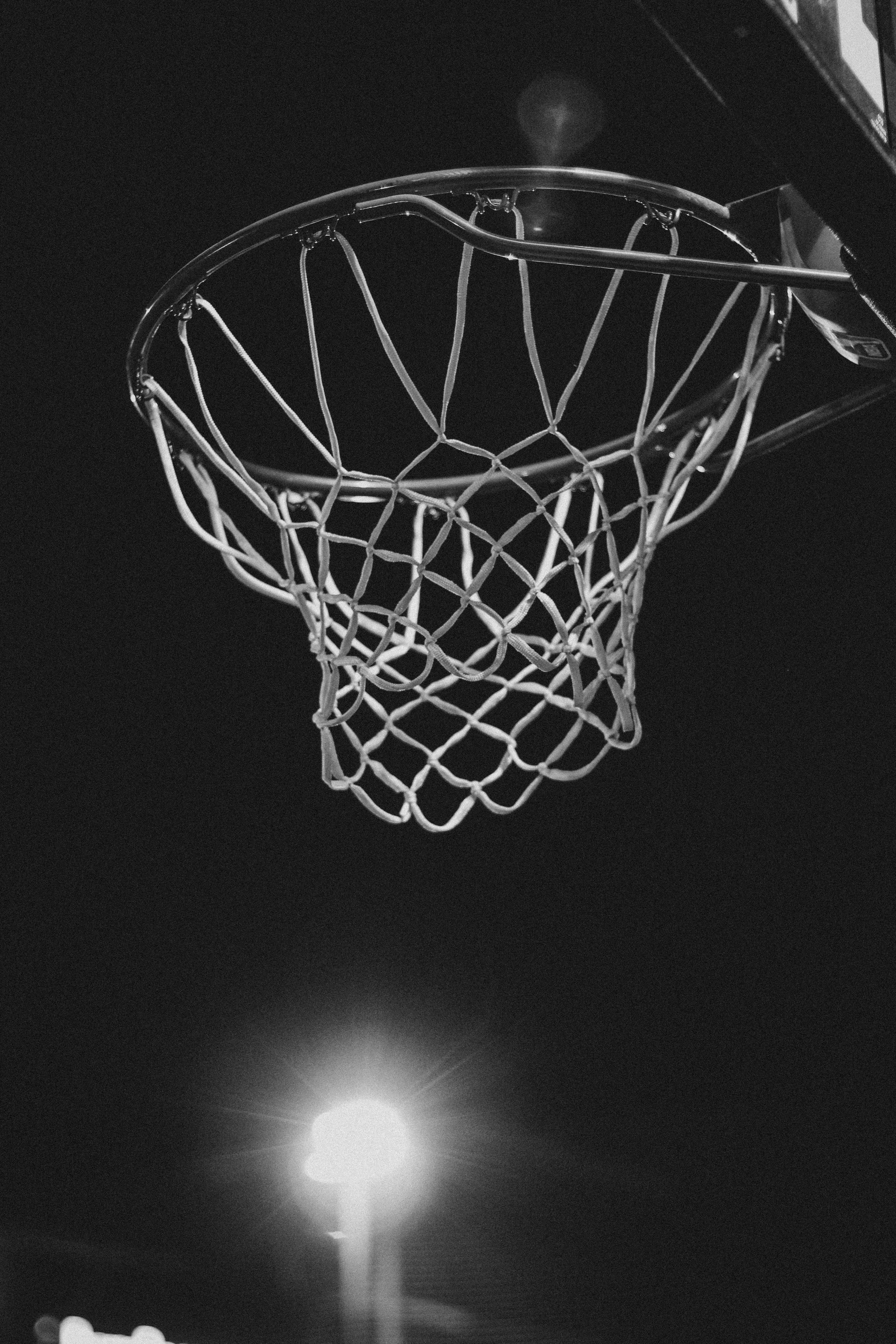 122547 Screensavers and Wallpapers Basketball for phone. Download Dark, Basketball Hoop, Basketball Ring, Bw, Chb, Grid, Basketball pictures for free