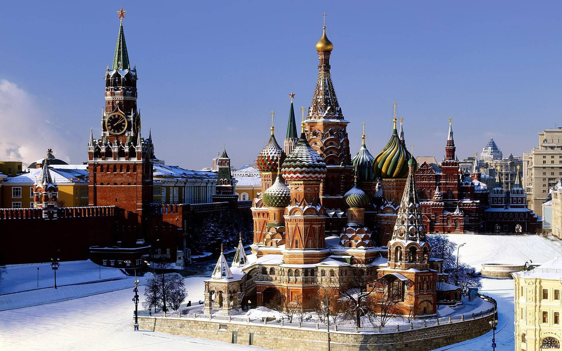 36982 скачать обои Москва, Пейзаж, Архитектура - заставки и картинки бесплатно