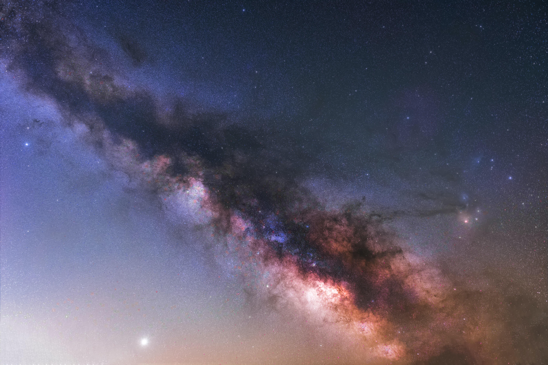 151557 скачать обои Туманность, Космос, Галактика, Разноцветный, Звезды - заставки и картинки бесплатно