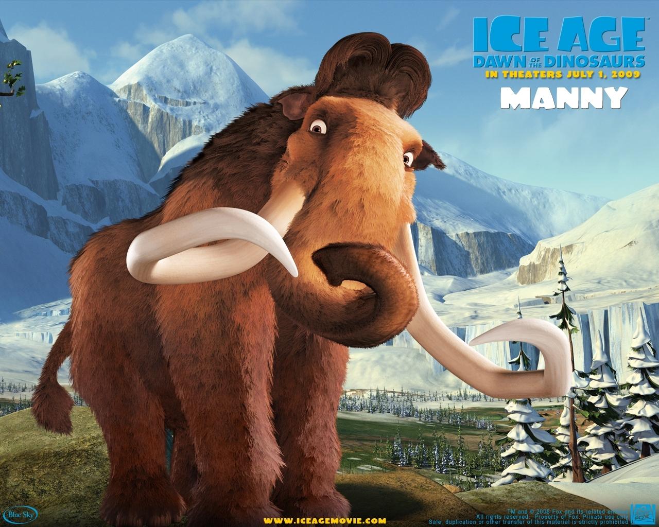 4839 Hintergrundbild herunterladen Cartoon, Eiszeit - Bildschirmschoner und Bilder kostenlos