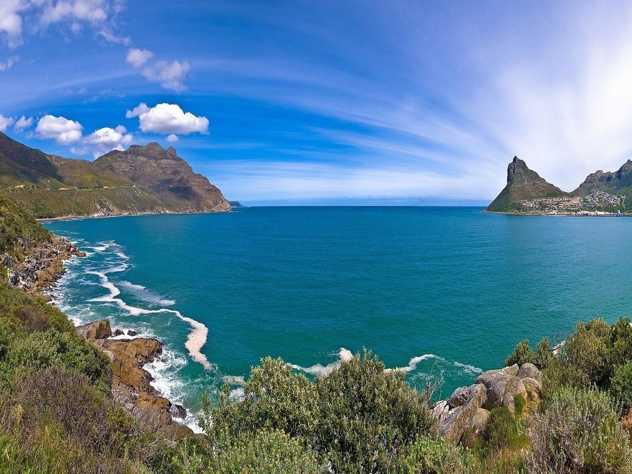 26607 免費下載壁紙 景观, 山, 海, 云 屏保和圖片