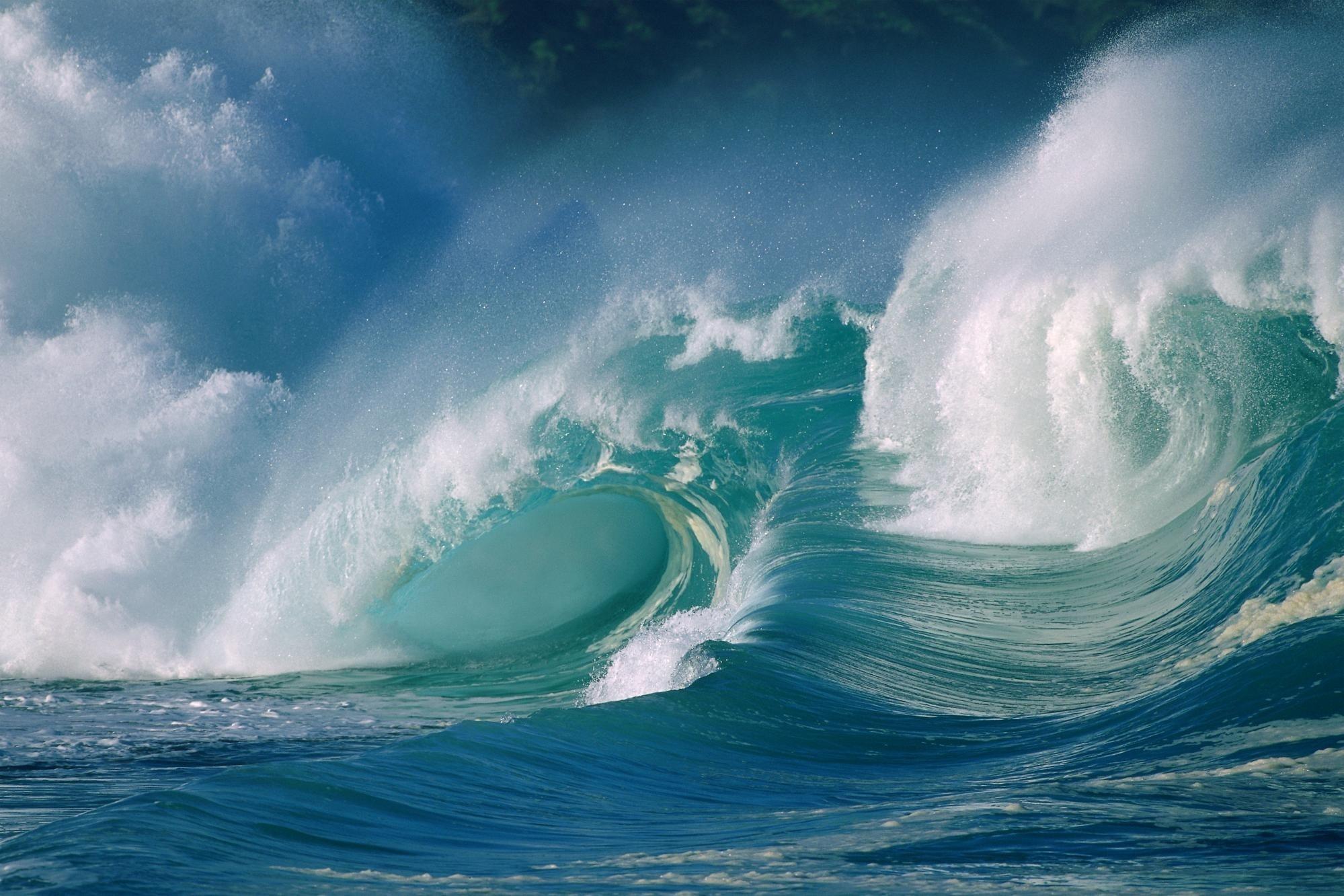 137415 завантажити шпалери Море, Природа, Океан, Бризки, Спрей, Сплеск, Сила, Сили, Хвиля - заставки і картинки безкоштовно