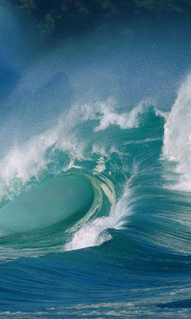137415壁紙のダウンロード自然, 波, 海洋, 大洋, スプラッシュ, し吹く, 海, 力, 強度, 噴射, スプレー-スクリーンセーバーと写真を無料で