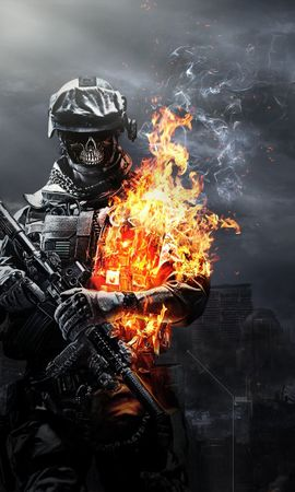 16613 download wallpaper Games, Fire, Battlefield, War screensavers and pictures for free