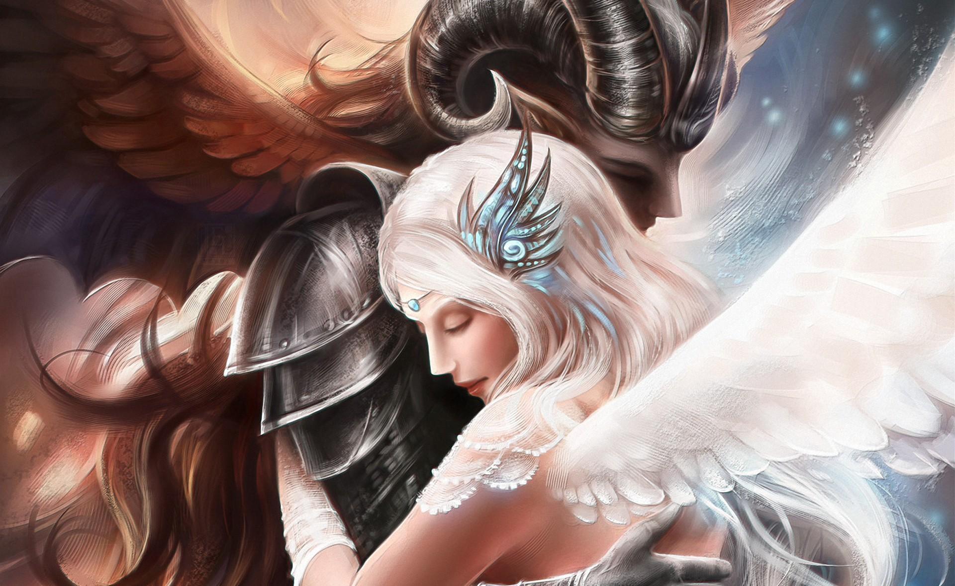 51887 Protetores de tela e papéis de parede Anjos em seu telefone. Baixe Fantasia, Anjos, Cuidado, Ternura, Abraçar fotos gratuitamente