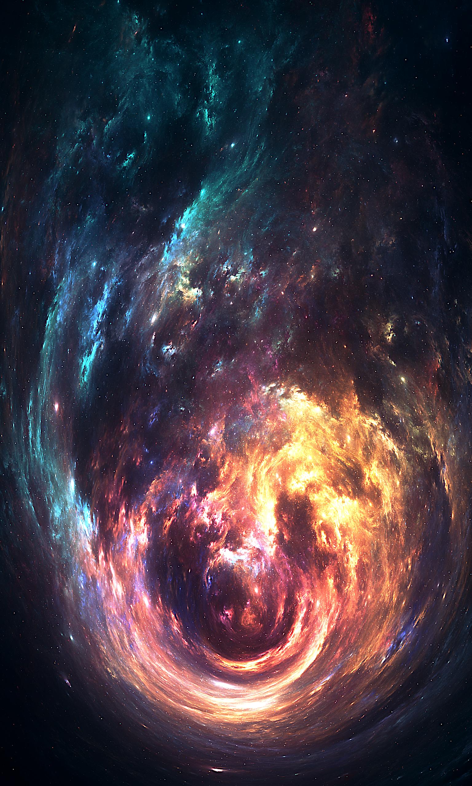 105777 免費下載壁紙 抽象, 星云, 云, 云端, 火热, 火焰, 明亮的, 明亮, 打旋, 旋转 屏保和圖片