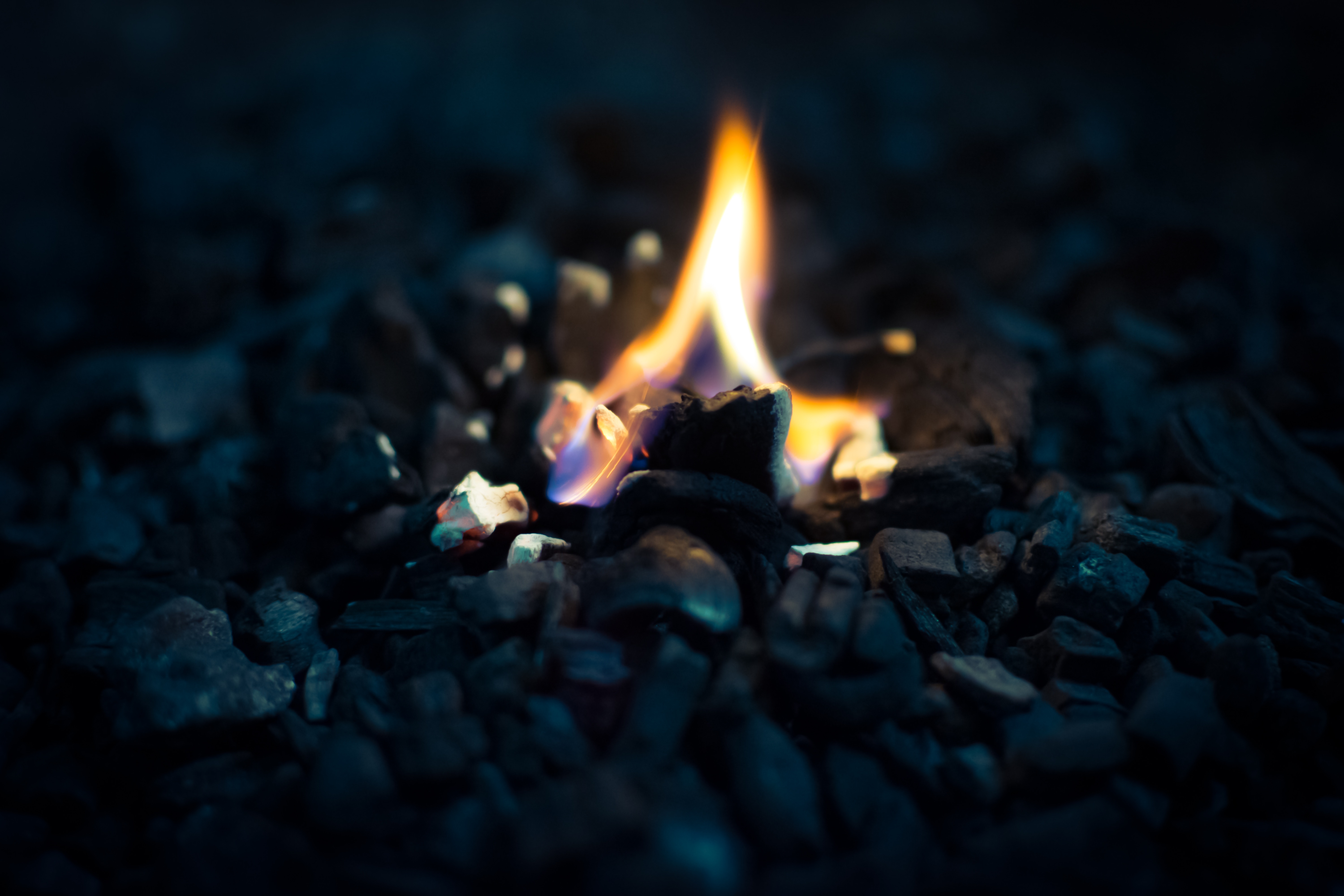 149518 Screensavers and Wallpapers Fire for phone. Download Dark, Fire, Stones, Macro, Flame pictures for free