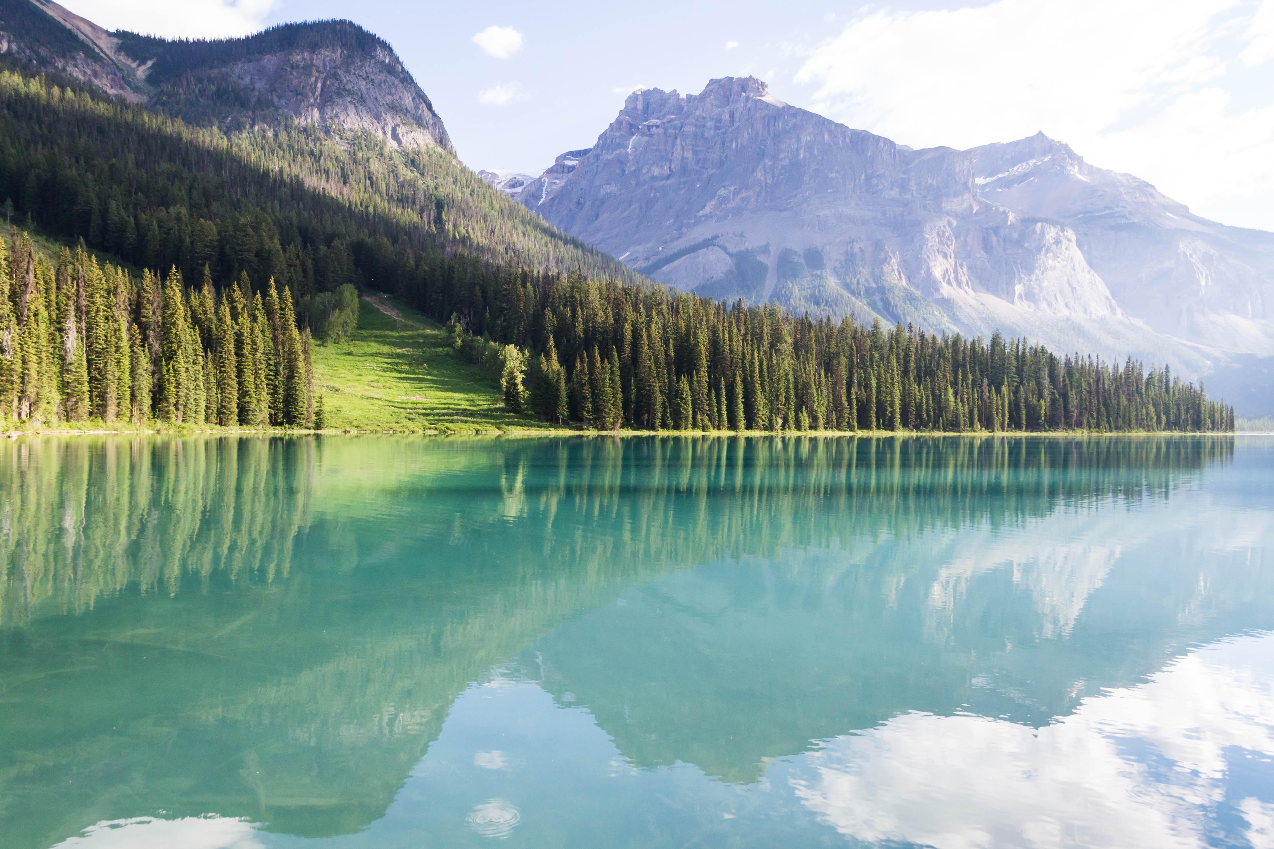 60842 Hintergrundbild 1024x768 kostenlos auf deinem Handy, lade Bilder Landschaft, Natur, Bäume, Mountains, Peyto-Seen, Peito Lakes 1024x768 auf dein Handy herunter