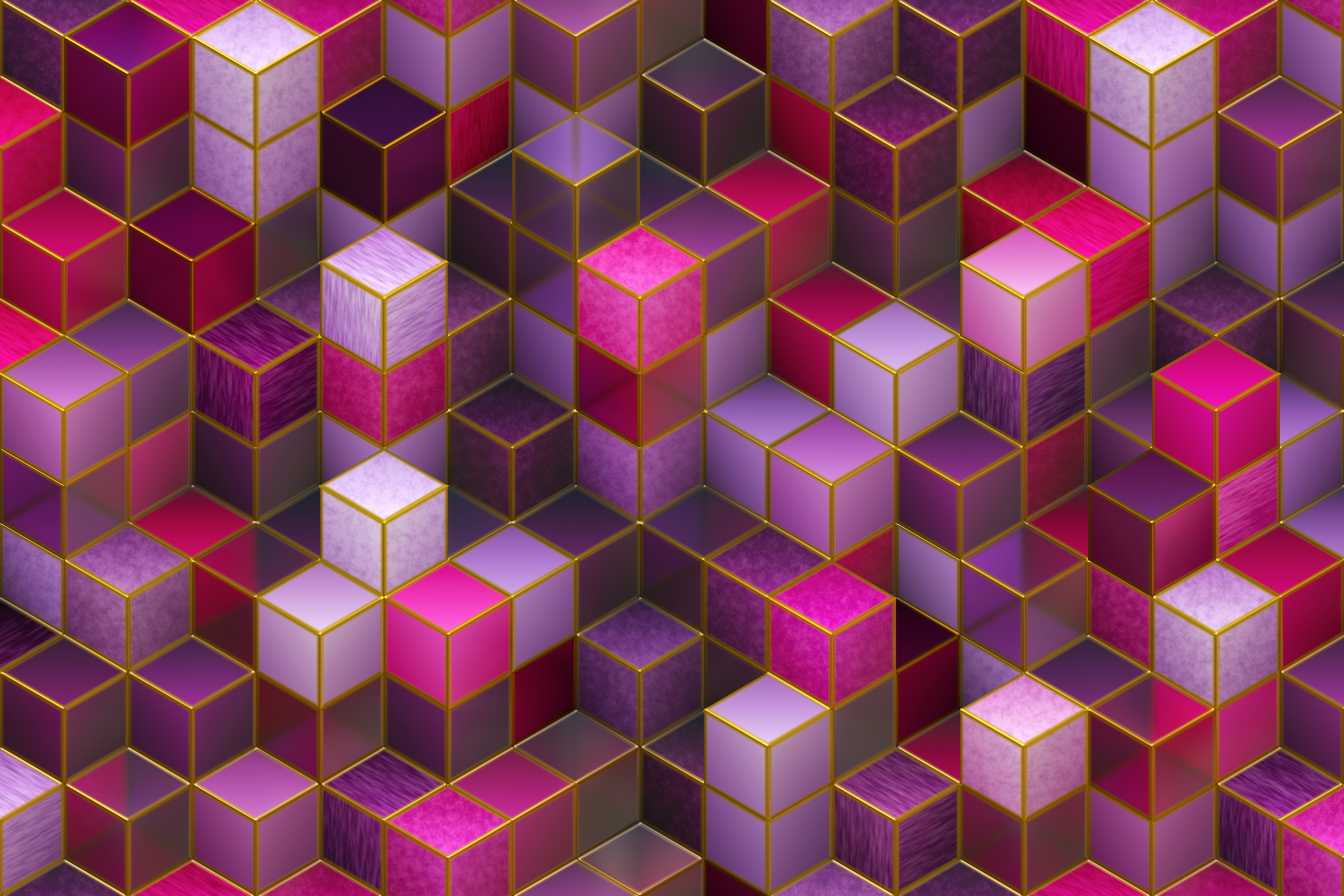 152920 Screensavers and Wallpapers Form for phone. Download 3D, Purple, Pink, Violet, Multicolored, Motley, Form, Forms, Cuba pictures for free
