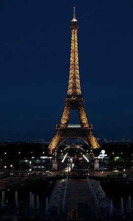 132932 baixar papel de parede Paris, França, Cidade, Noite, As Luzes, Luzes, Cidades, Torre Eiffel - protetores de tela e imagens gratuitamente