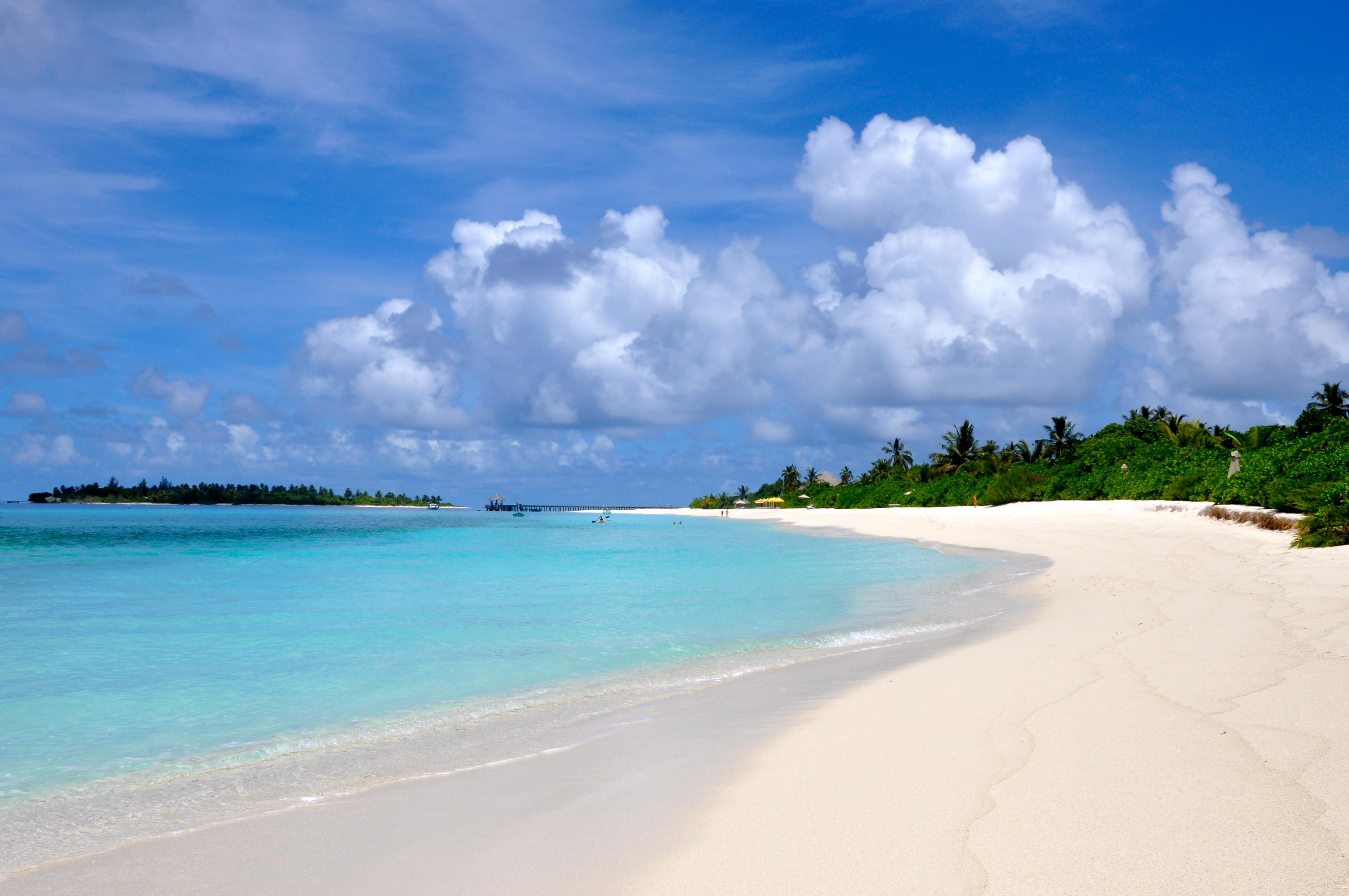 63241 Заставки и Обои Песок на телефон. Скачать Песок, Природа, Пляж, Лето, Мальдивы картинки бесплатно