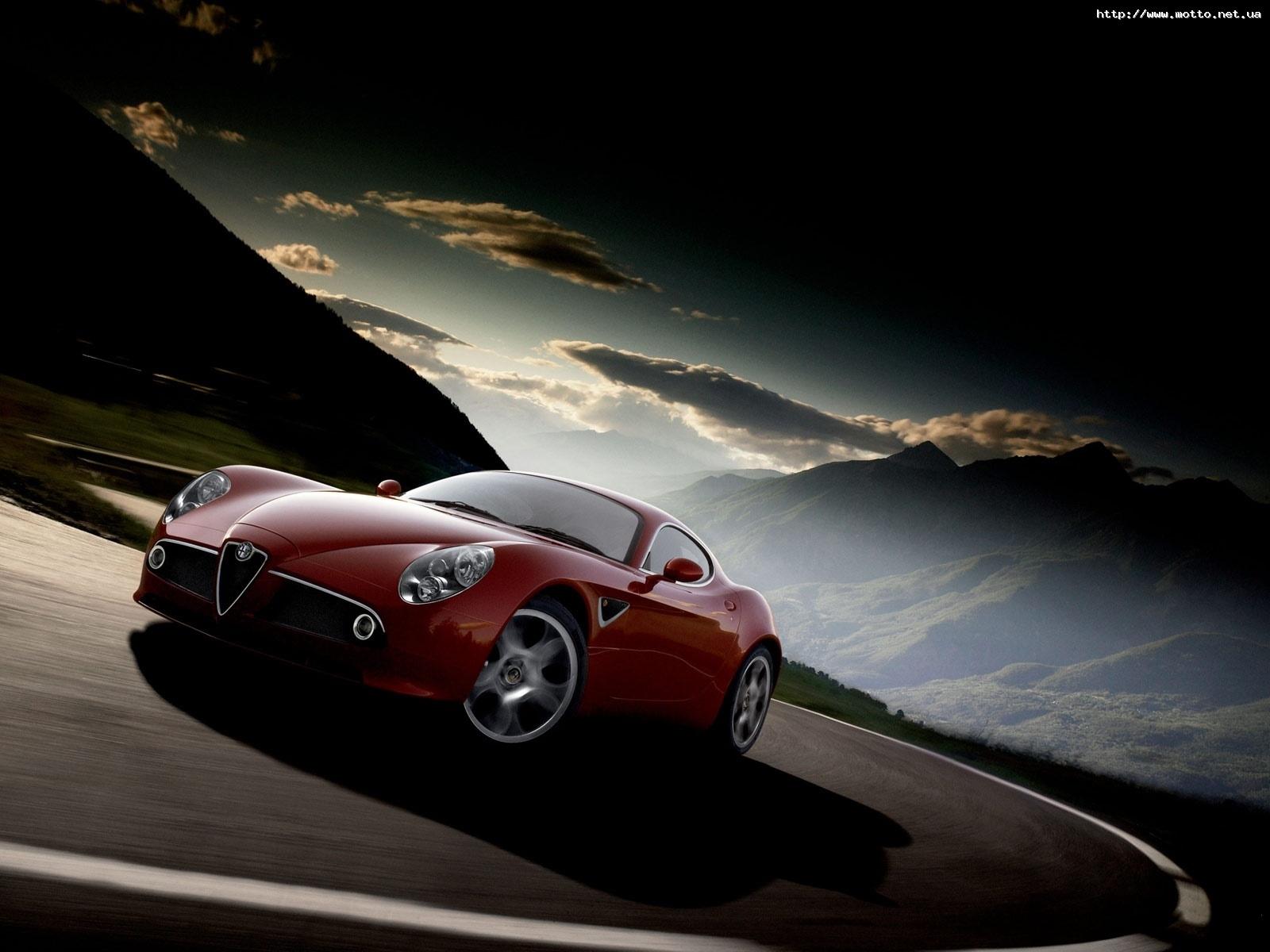 173 скачать обои Транспорт, Машины, Дороги, Альфа Ромео (Alfa Romeo) - заставки и картинки бесплатно