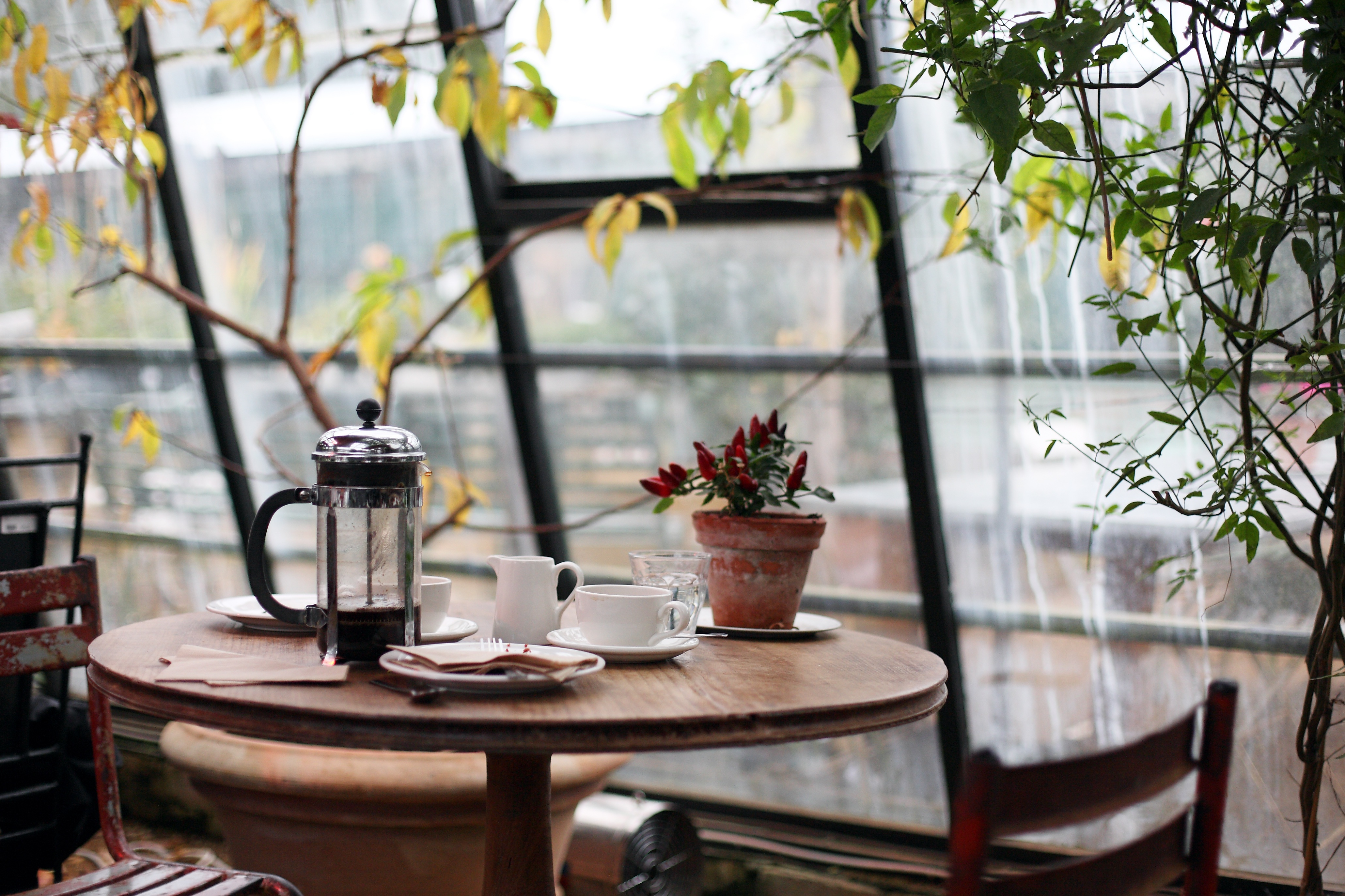 140266 download wallpaper Interior, Miscellanea, Miscellaneous, Design, Table, Cafe, Café, Side Table, Restaurant screensavers and pictures for free