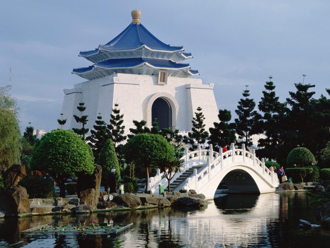 25239 скачать обои Пейзаж, Река, Мосты, Архитектура, Азия - заставки и картинки бесплатно